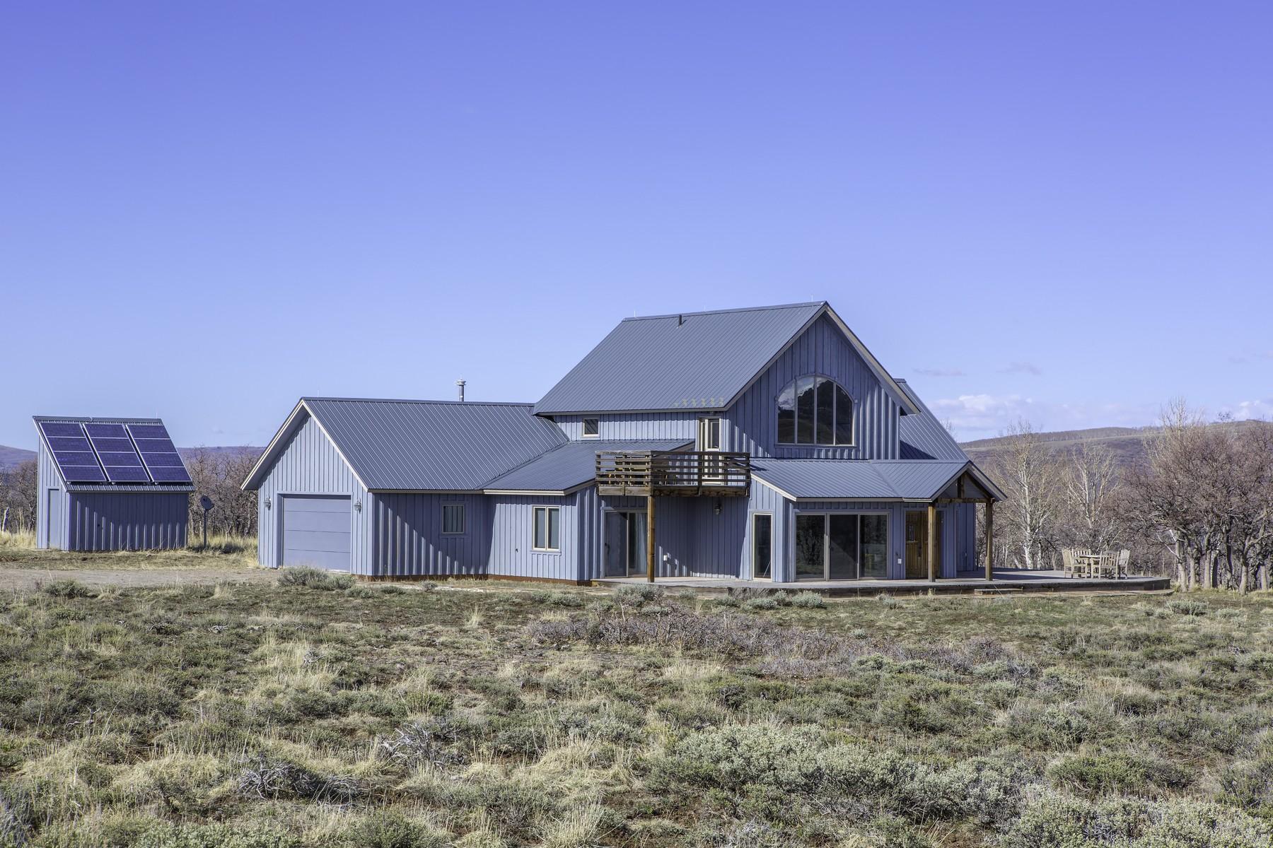 Частный односемейный дом для того Продажа на 541 Old Elam Ranch Road Telluride, Колорадо, 81435 Соединенные Штаты