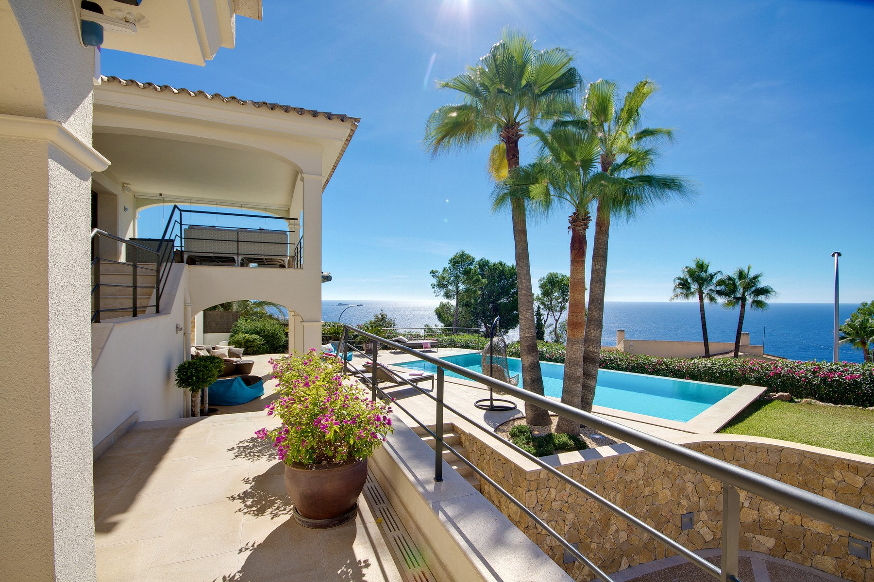 Single Family Home for Sale at Fully refurbished villa with panoramic views Port Adriano, Mallorca, 07180 Spain