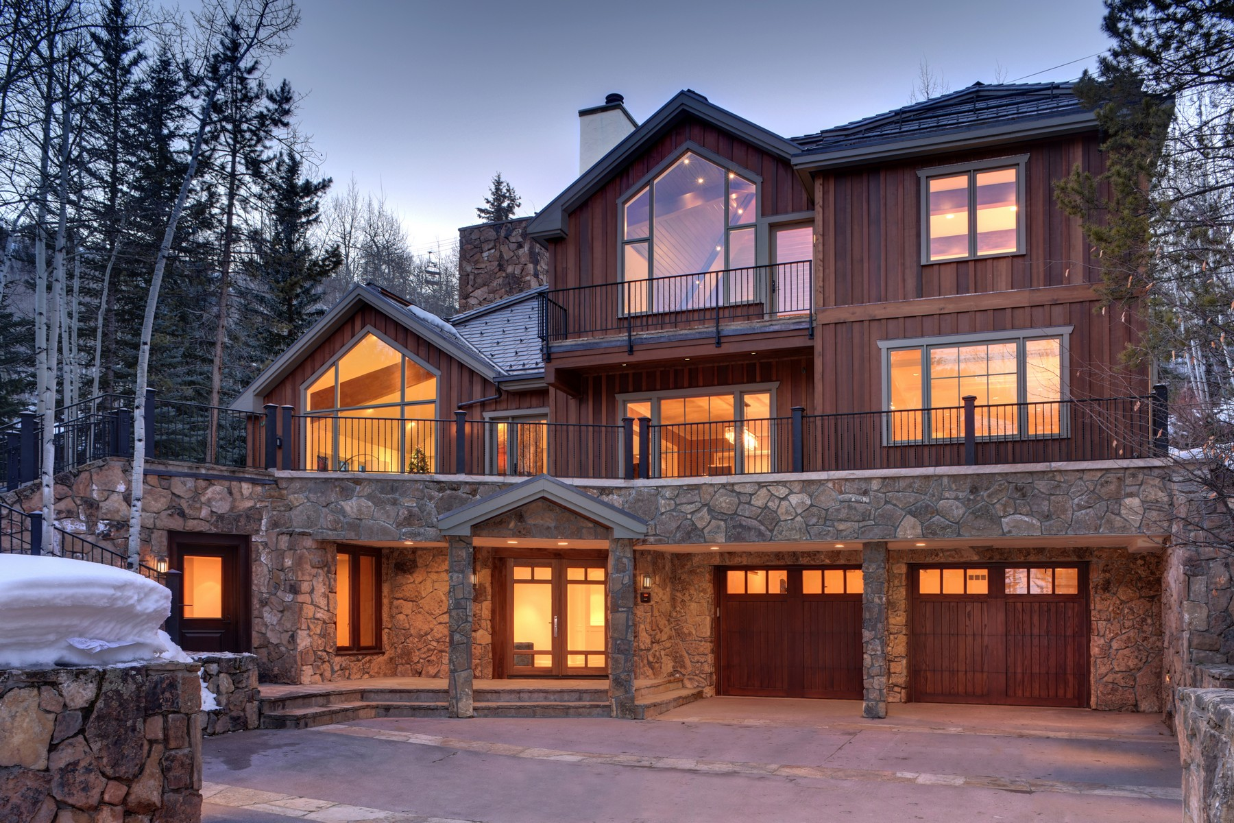 Single Family Home for Active at Ski inSki out Residence in Beaver Creek 65 Elk Track Ct Beaver Creek, Colorado 81620 United States