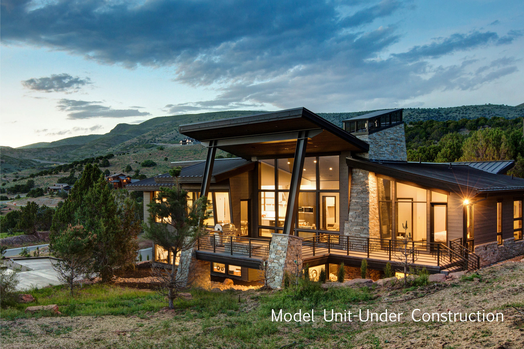 Casa Unifamiliar por un Venta en New Upwall Contemporary in Red Ledges 591 N Copper Belt Cir Heber City, Utah, 84032 Estados Unidos