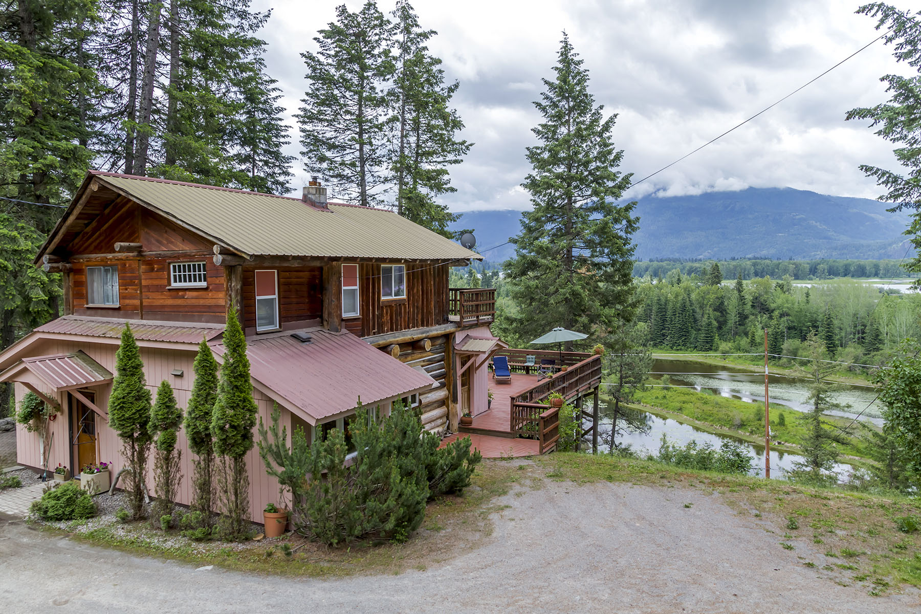 Single Family Home for Sale at Amazing views of beautiful Lake Pend Oreille 52331 Highway 200 Clark Fork, Idaho, 83811 United States