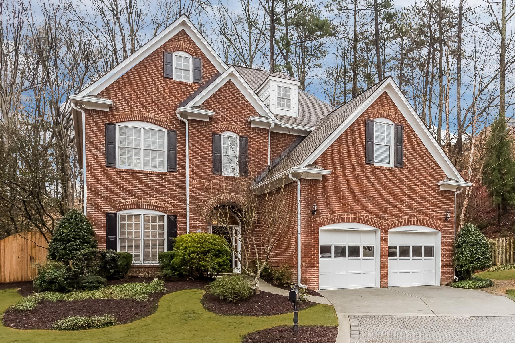獨棟家庭住宅 為 出售 在 Wonderful Brookhaven Traditional 3320 Windsor Lake Drive NE Brookhaven, Atlanta, 喬治亞州, 30319 美國