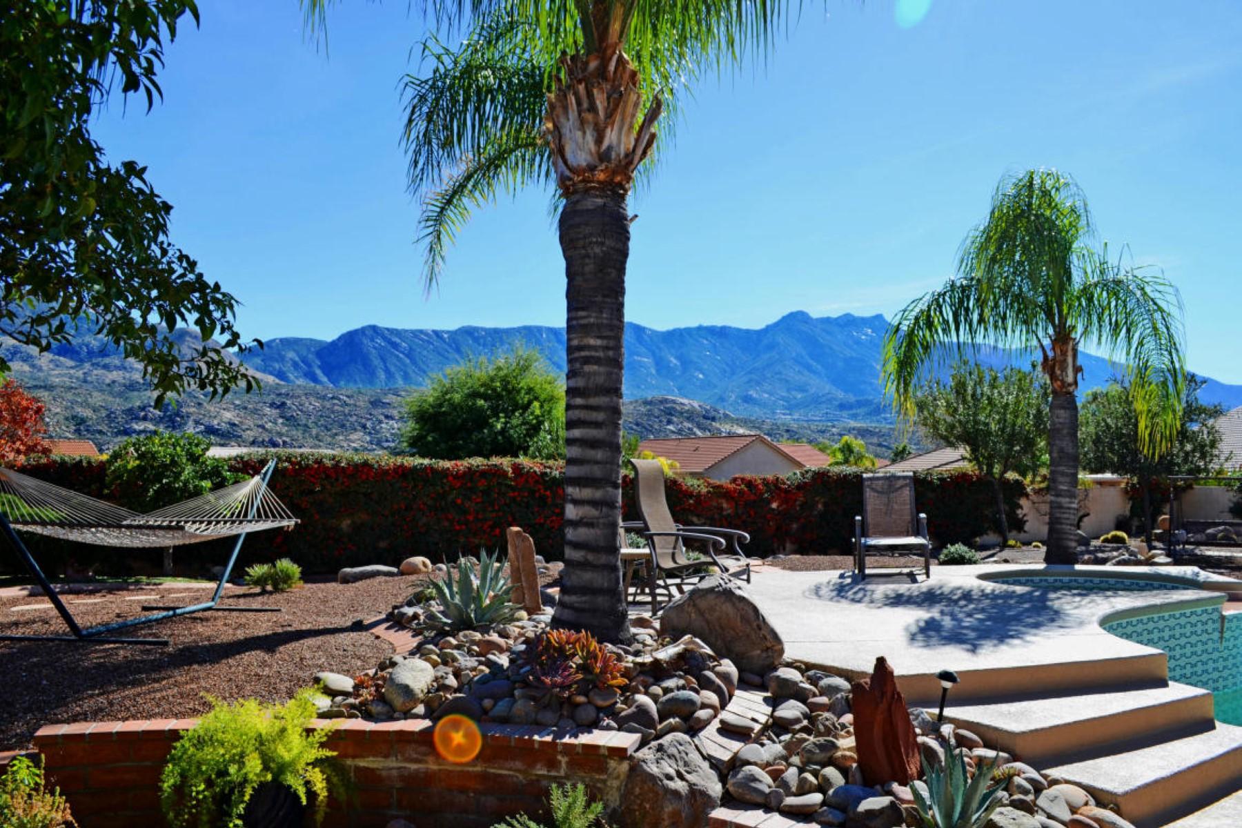 Moradia para Venda às Beautifully appointed Topaz model in the shadow of the Catalina Mountains 37467 S Ridgeview Boulevard Tucson, Arizona 85739 Estados Unidos