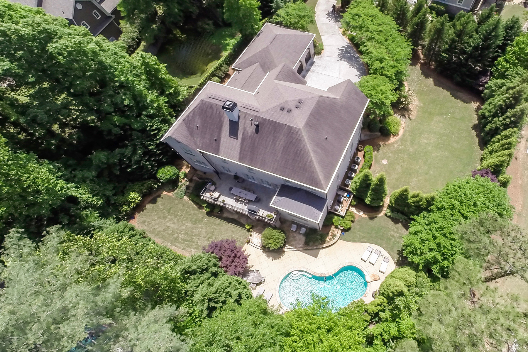 Additional photo for property listing at Private Estate In Chastain ParkBuckhead 4651 Dudley Lane Atlanta, Georgië 30327 Verenigde Staten