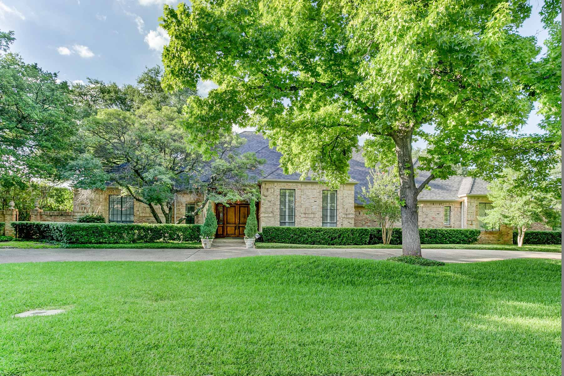 Single Family Home for Sale at Exceptional Floor Plan 4621 Bobbitt Drive Dallas, Texas, 75229 United States