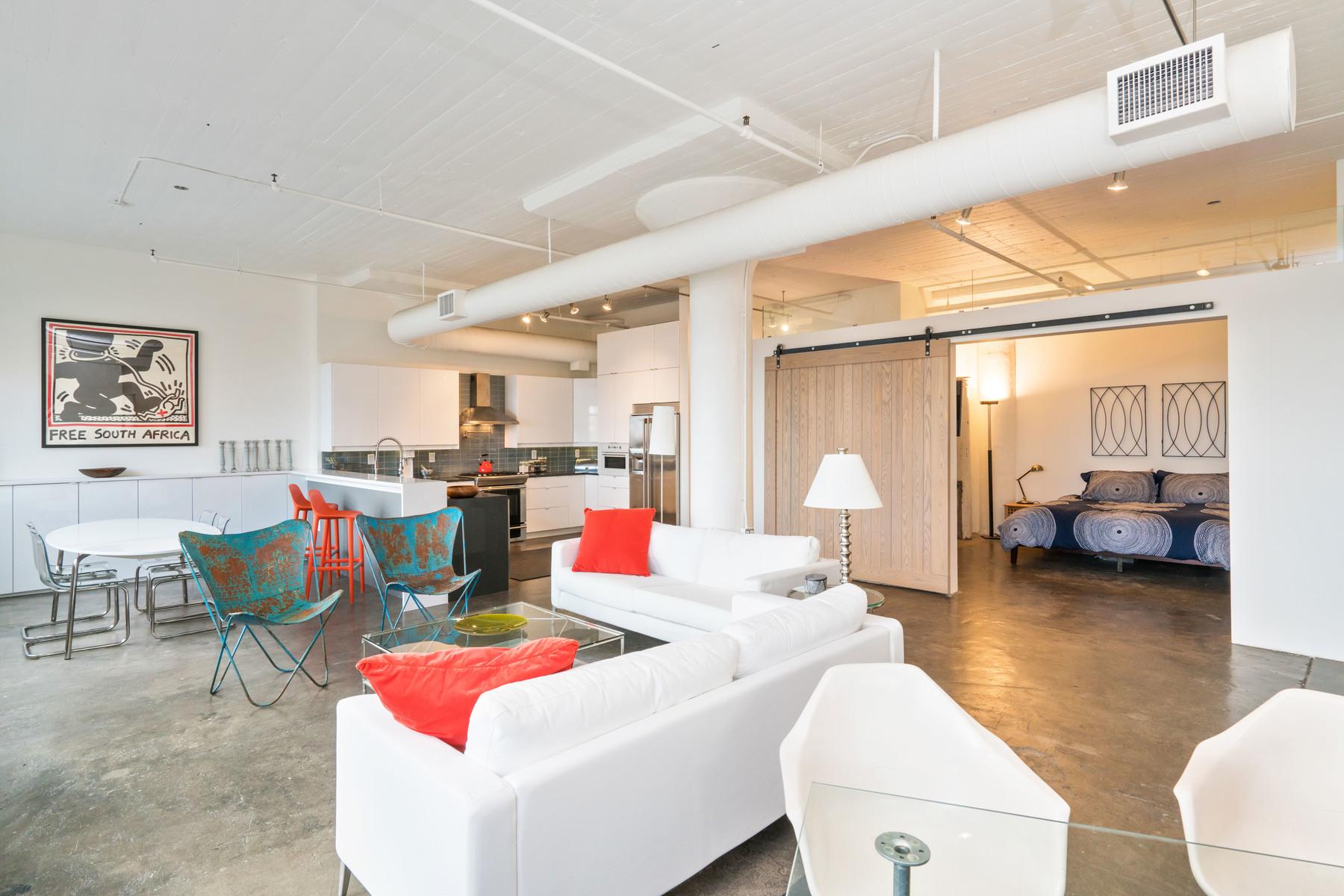 共管式独立产权公寓 为 销售 在 Seaport Lofts 437 D St - Unit 6C 波士顿, 马萨诸塞州, 02210 美国