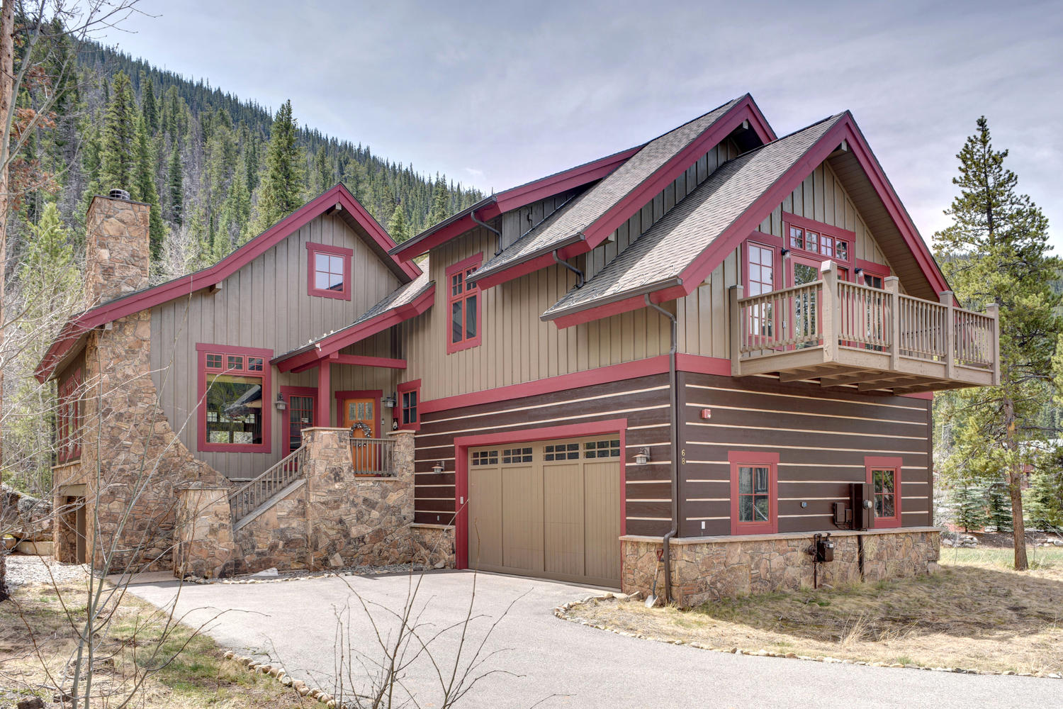 Single Family Home for Sale at 68 Wolf Rock 68 Wolf Rock Road Keystone, Colorado, 80435 United States