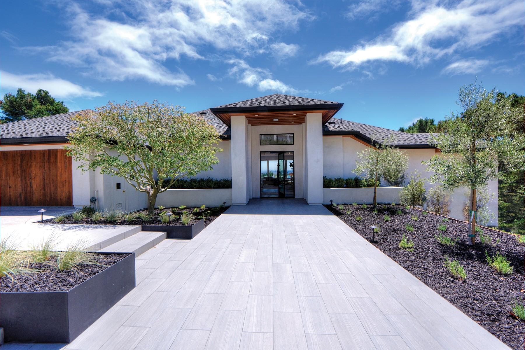 Single Family Home for Sale at Tiburon Estate 30 Meadow Hill Drive Tiburon, California 94920 United States