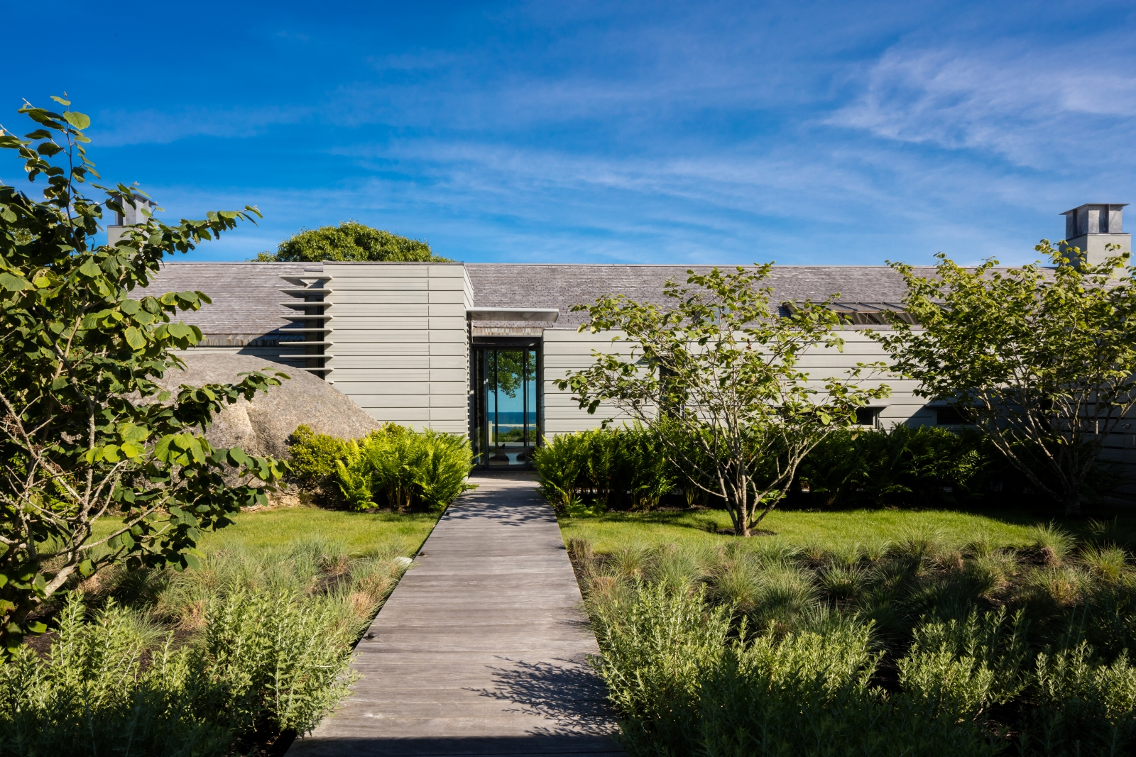Single Family Home for Sale at Spectacular Estate with Private Beach 8 Snail Road Chilmark, Massachusetts 02535 United States