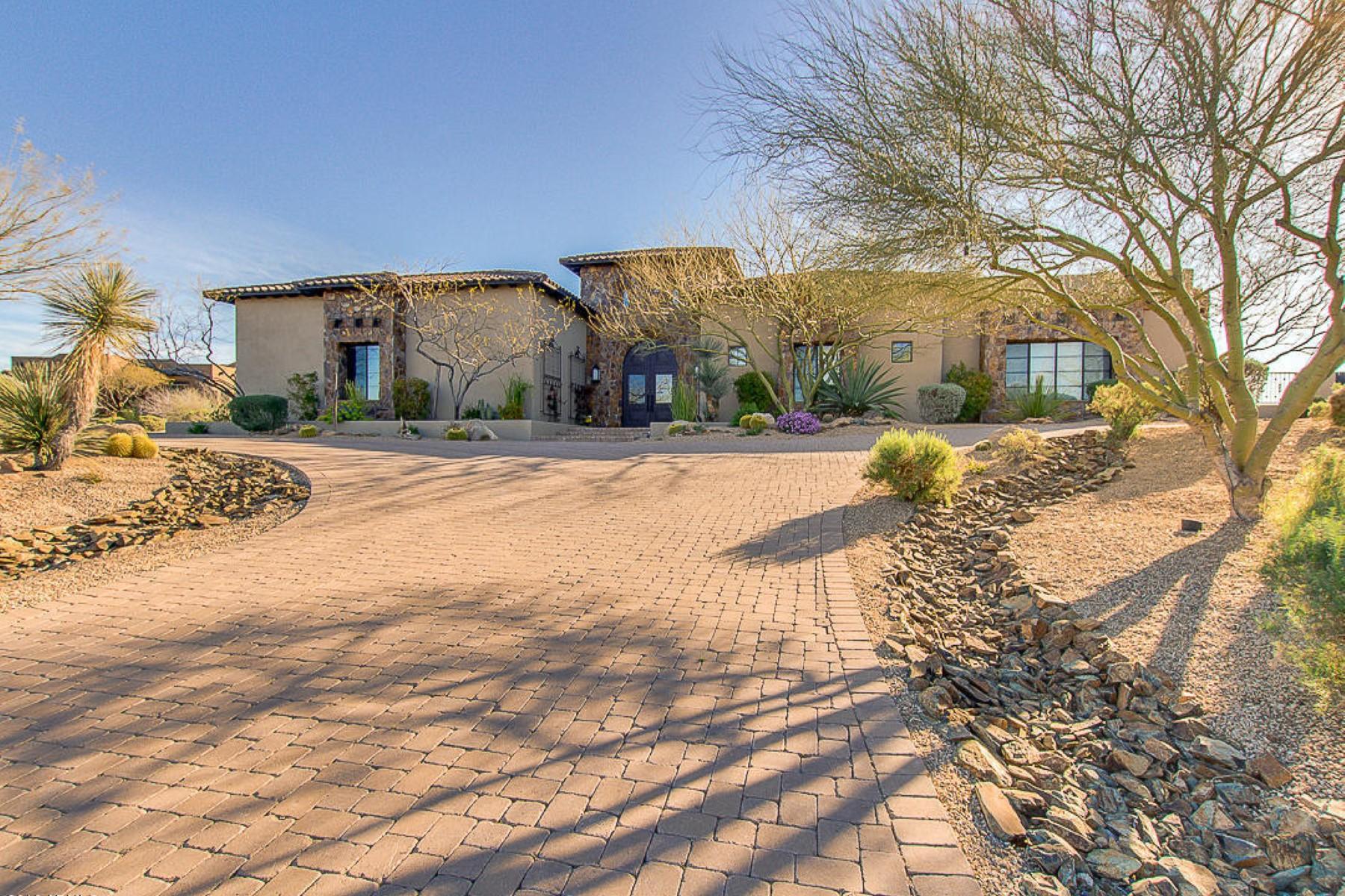 一戸建て のために 売買 アット Exclusive Vista Valle subdivision 37911 N Boulder View Dr Scottsdale, アリゾナ, 85262 アメリカ合衆国