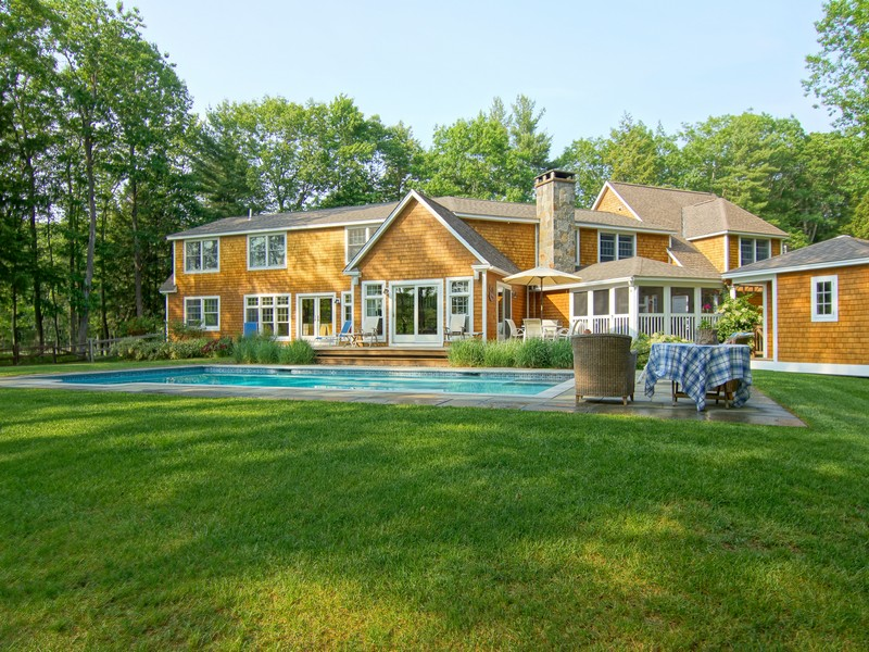 Single Family Home for Sale at Expansive Custom Riverfront Cape 1 Wingate Court Stratham, New Hampshire 03885 United States