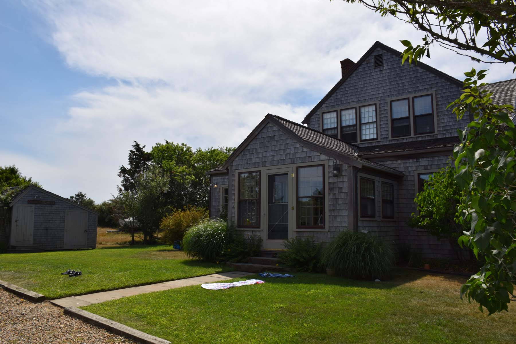Single Family Home for Sale at Peace and Serenity! 15 Margarets Way Nantucket, Massachusetts, 02554 United States