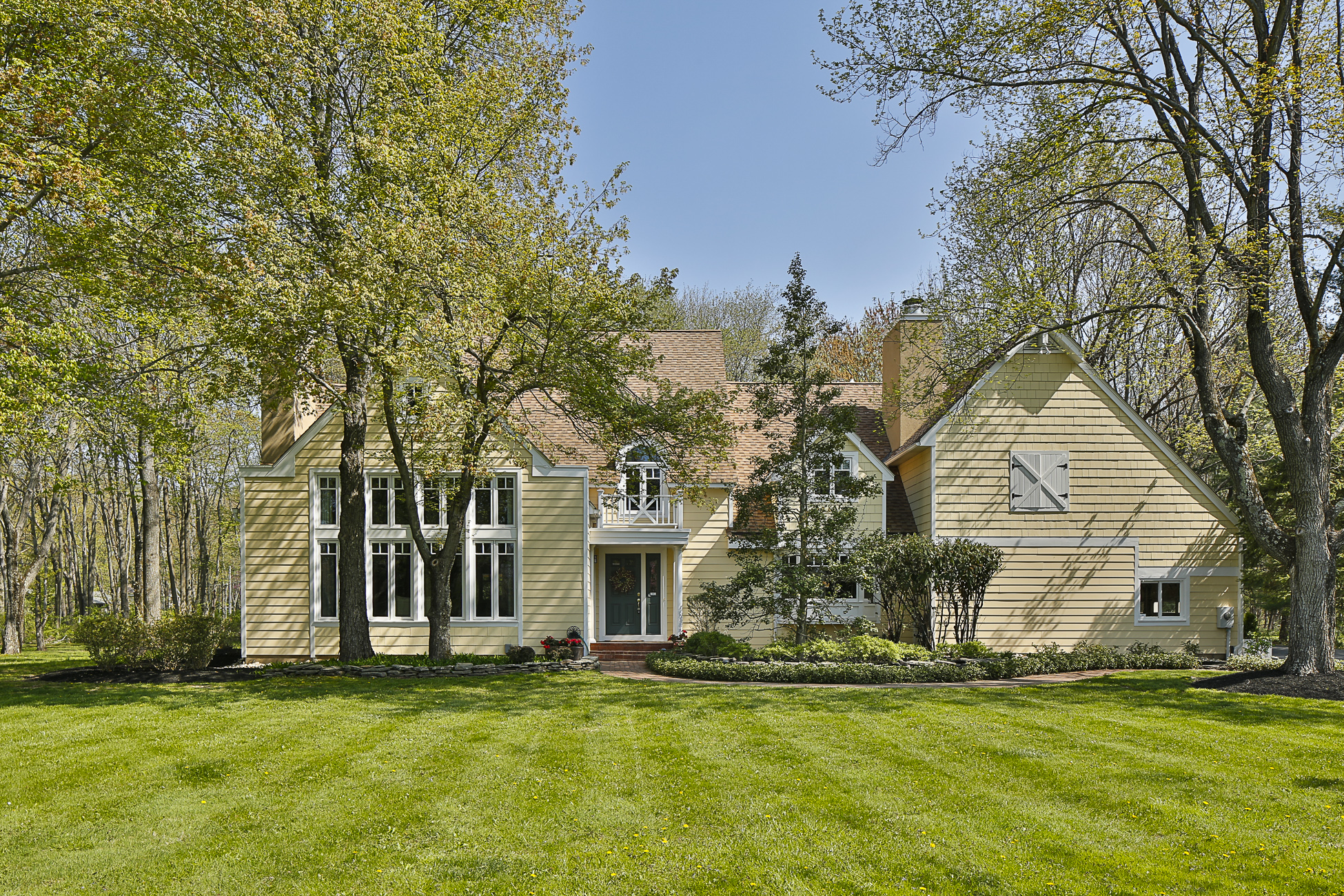 Single Family Home for Sale at Light Filled, Architecturally Enhanced 159 Moores Mill Mount Rose Road Hopewell, New Jersey 08525 United States