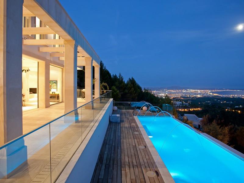 단독 가정 주택 용 매매 에 Villa in exceptional Feng Shui design -Son Vida Palma Son Vida, 말로카 07013 스페인