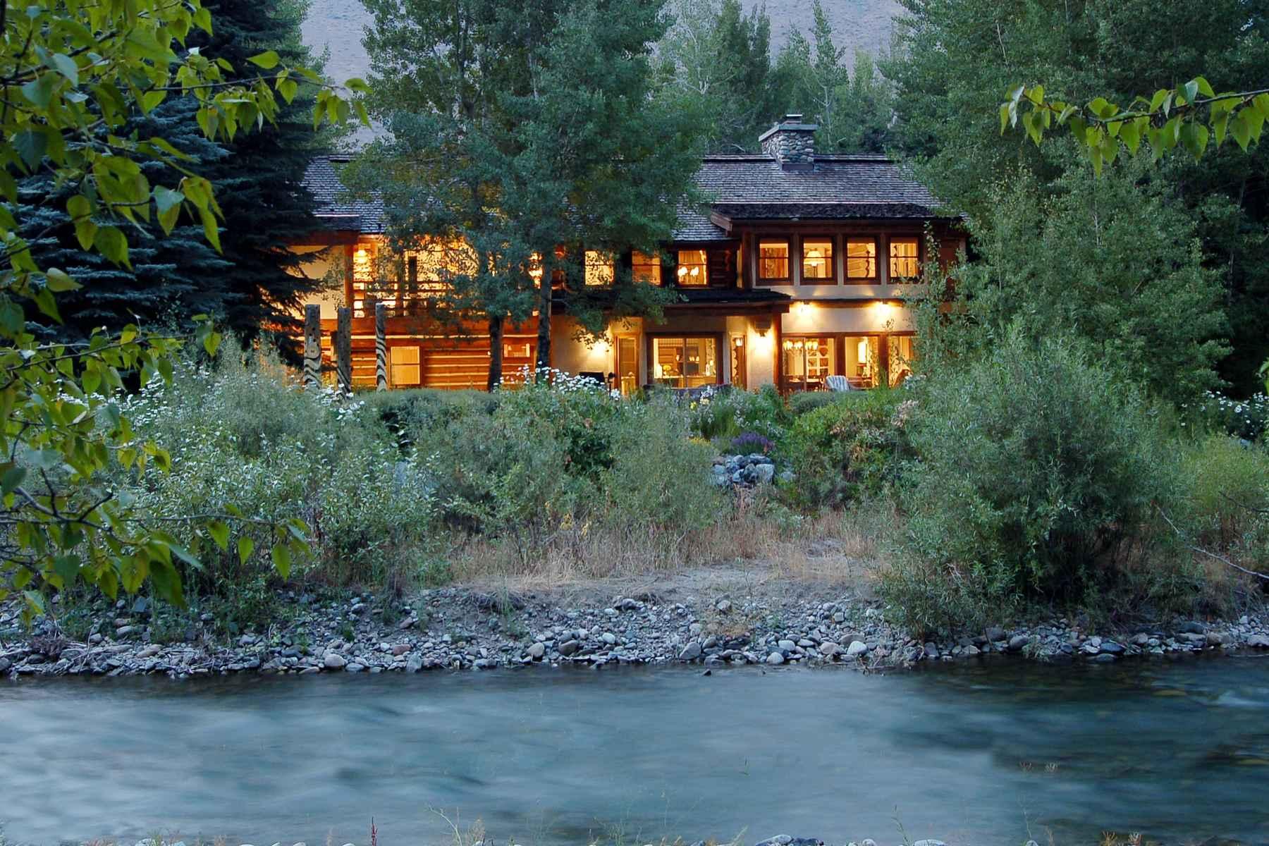 Casa para uma família para Venda às Sweet Irene 130 Irene St. Ketchum, Idaho, 83340 Estados Unidos