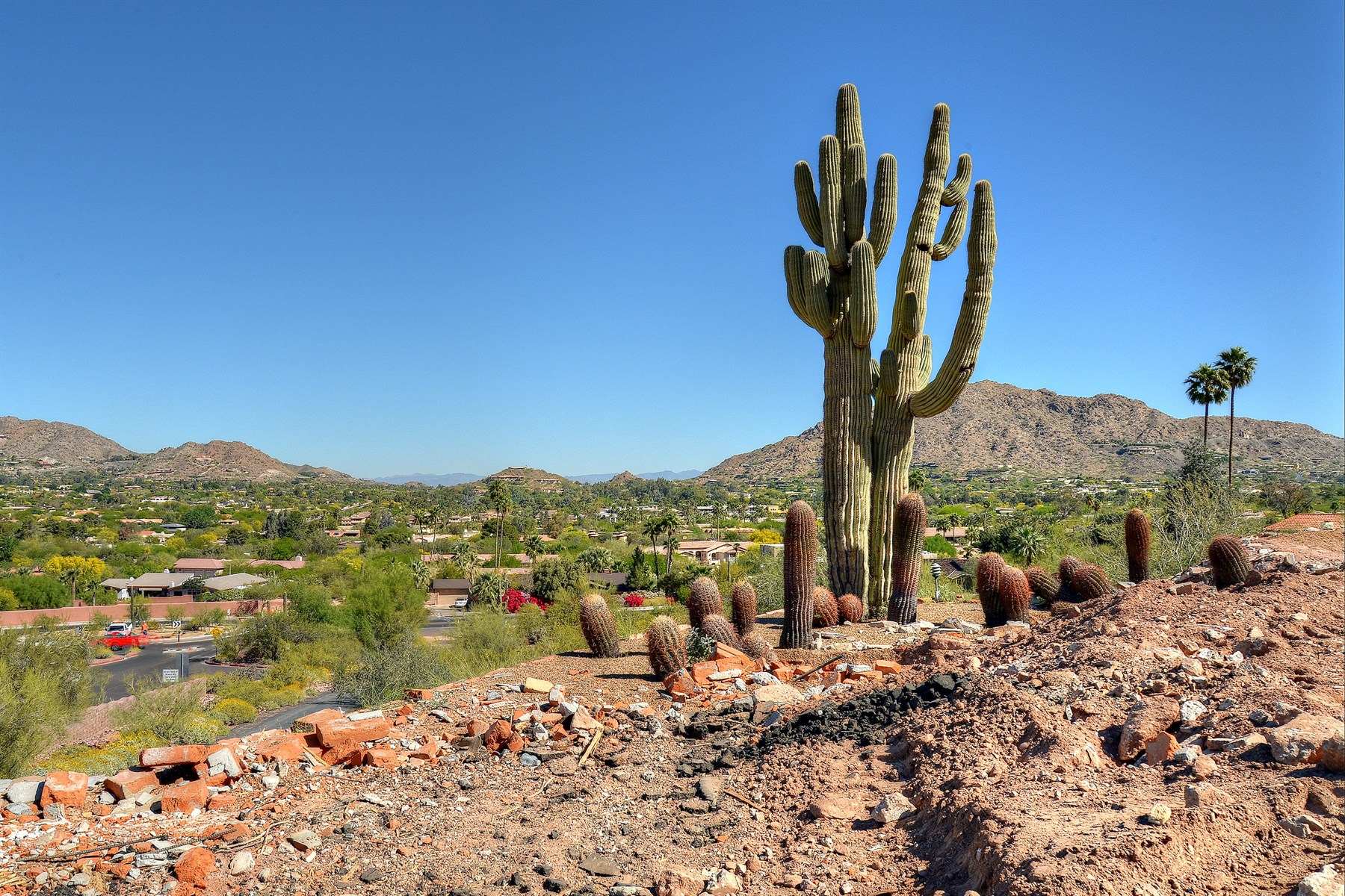 Terreno per Vendita alle ore Astounding 1.49 acre lot up against the head of Camelback Mountain 4943 E McDonald DR 1 Paradise Valley, Arizona, 85253 Stati Uniti