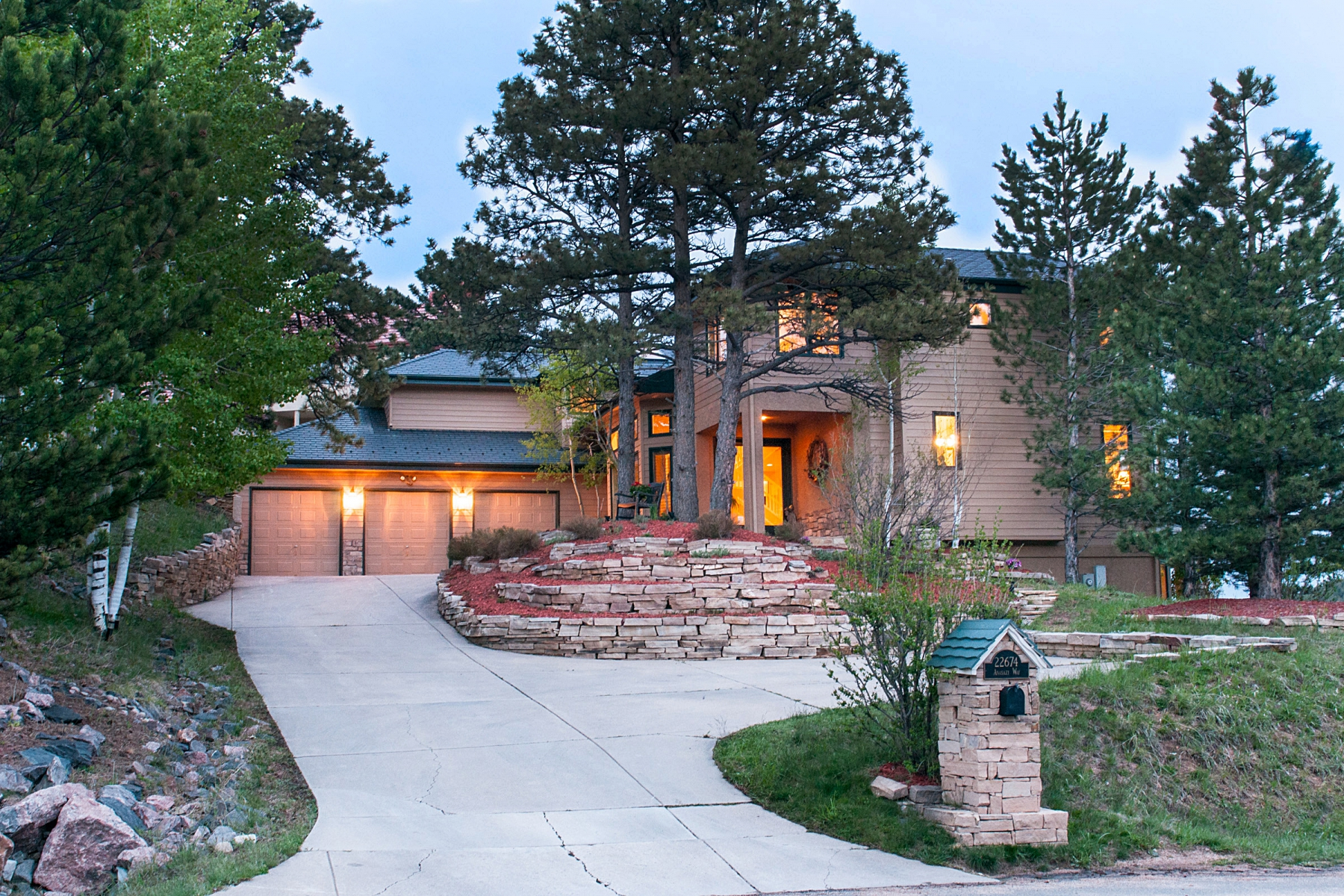 Single Family Home for Sale at Pond Views from Family Home 22674 Anasazi Way Golden, Colorado 80401 United States