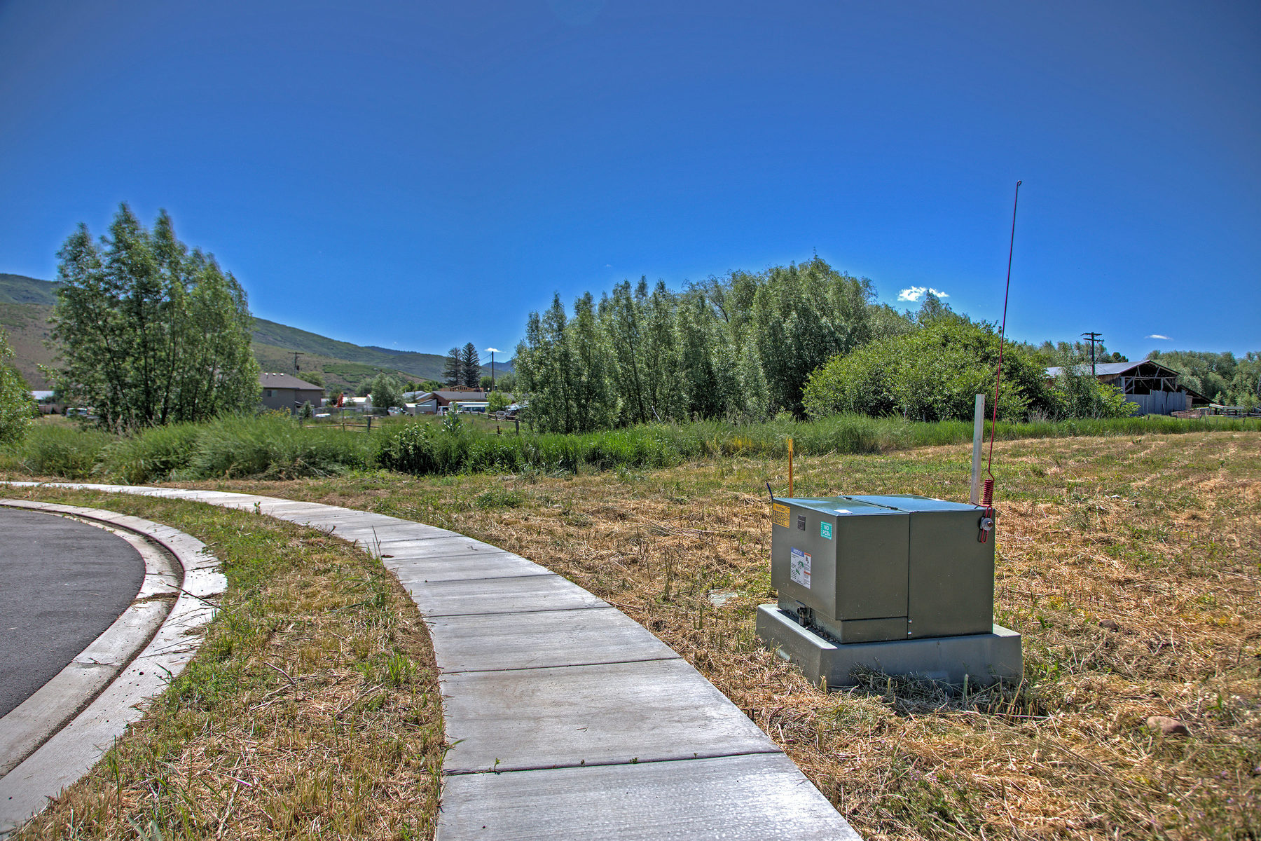 Property Of Five Fully Improved Lots Ready to Build with Stream and Mountain Views