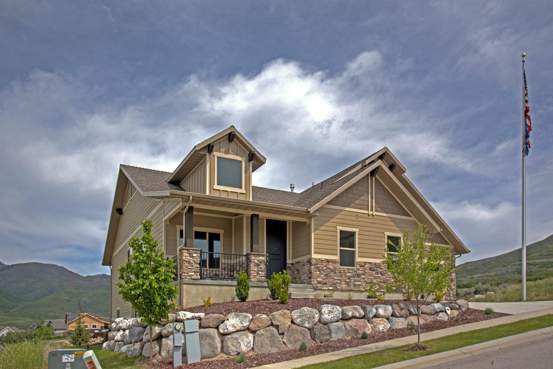Villa per Vendita alle ore Model Home with Views of Timpanogos 480 West Hillwood Drive Heber City, Utah 84032 Stati Uniti