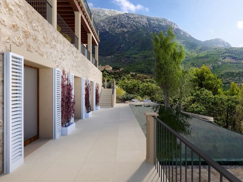 Maison multifamiliale pour l Vente à Project for a stunning finca in Deia with seaviews Deia, Majorque Espagne
