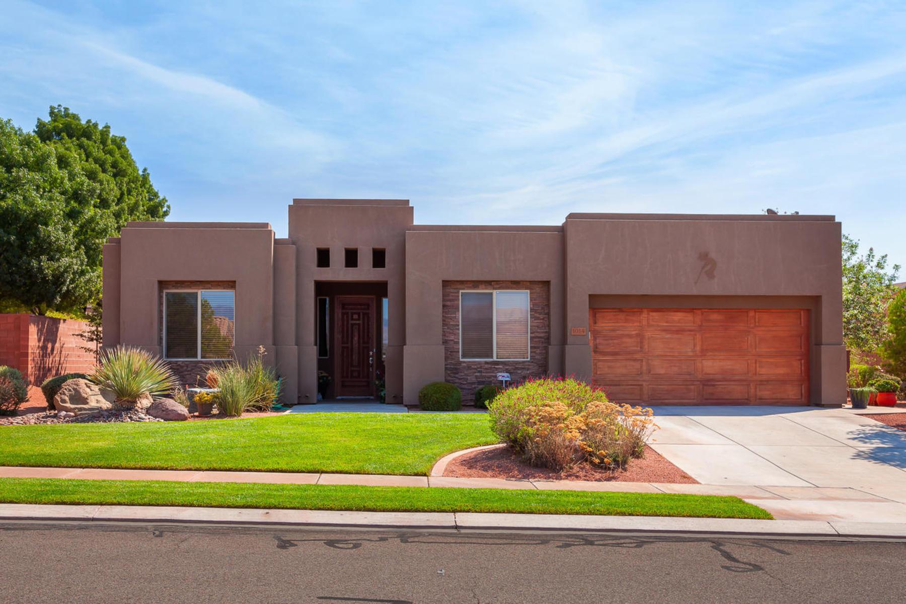 Casa para uma família para Venda às Stone Gate at Seven Hills 1014 N 2130 St W St. George, Utah 84770 Estados Unidos