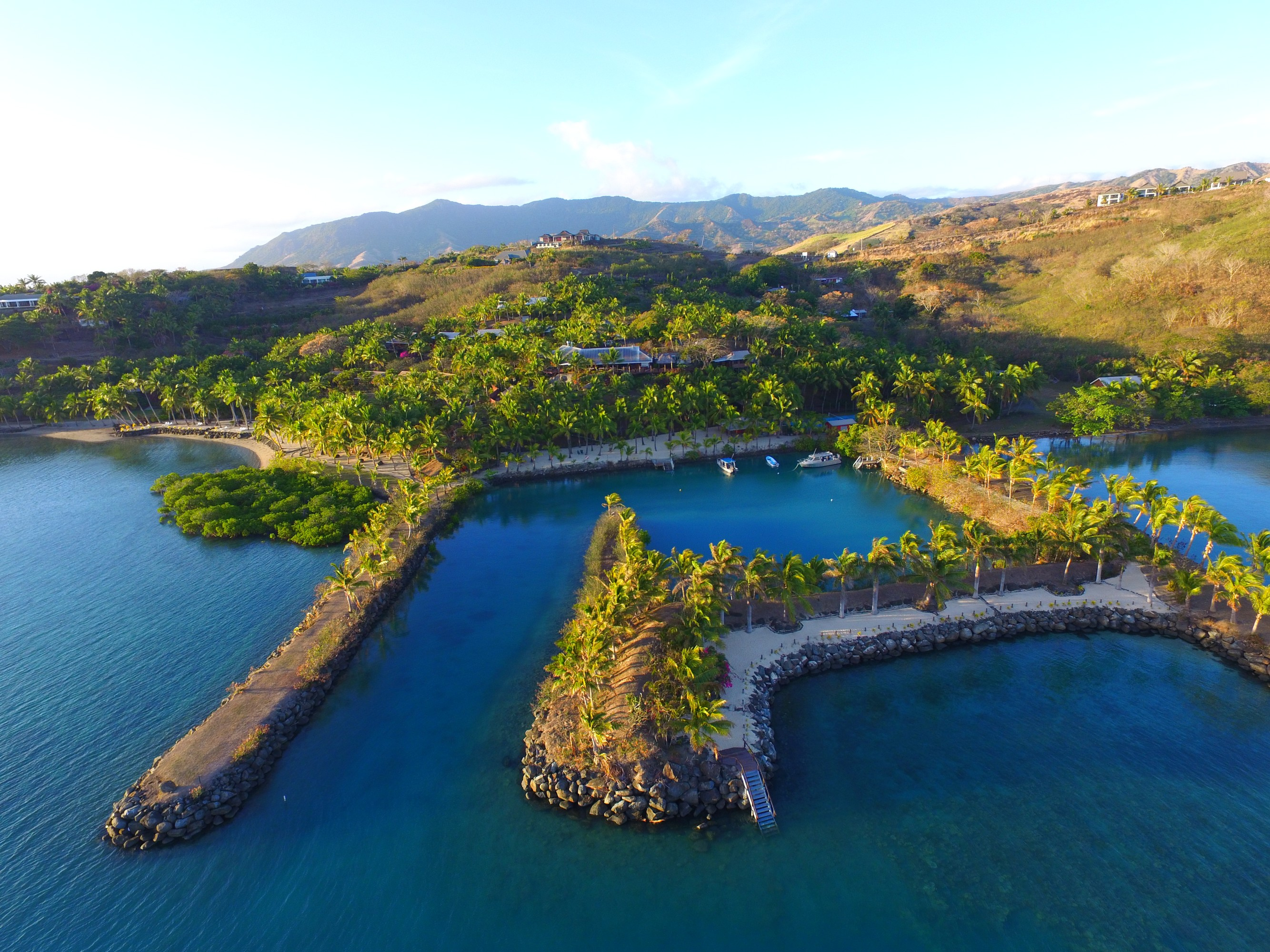 sales property at Wananavu Beach Resort