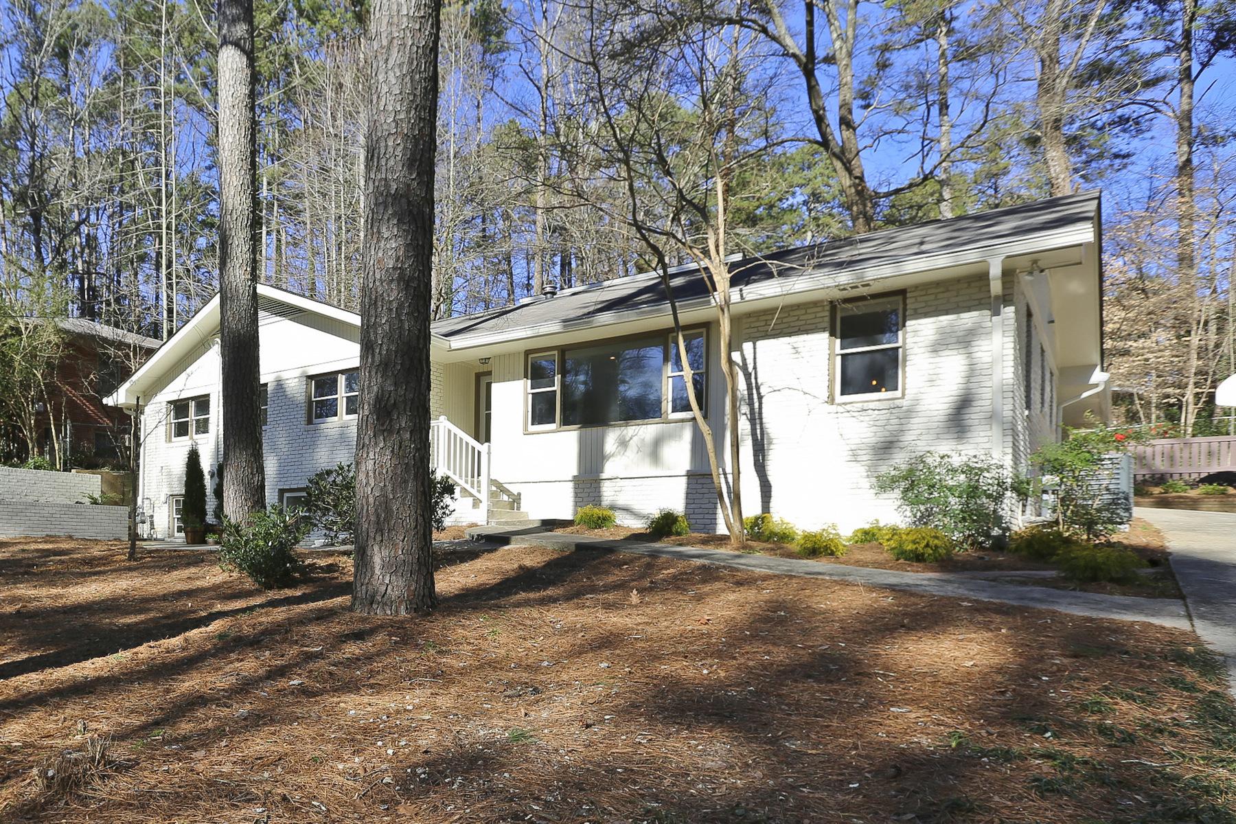 一戸建て のために 売買 アット Renovated Ranch 2411 Nancy Lane NE Atlanta, ジョージア 30345 アメリカ合衆国