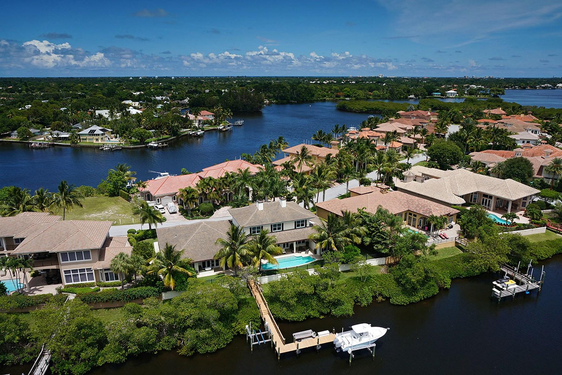 Casa para uma família para Venda às 18980 SE Reach Island Lane Jupiter, Florida 33458 Estados Unidos