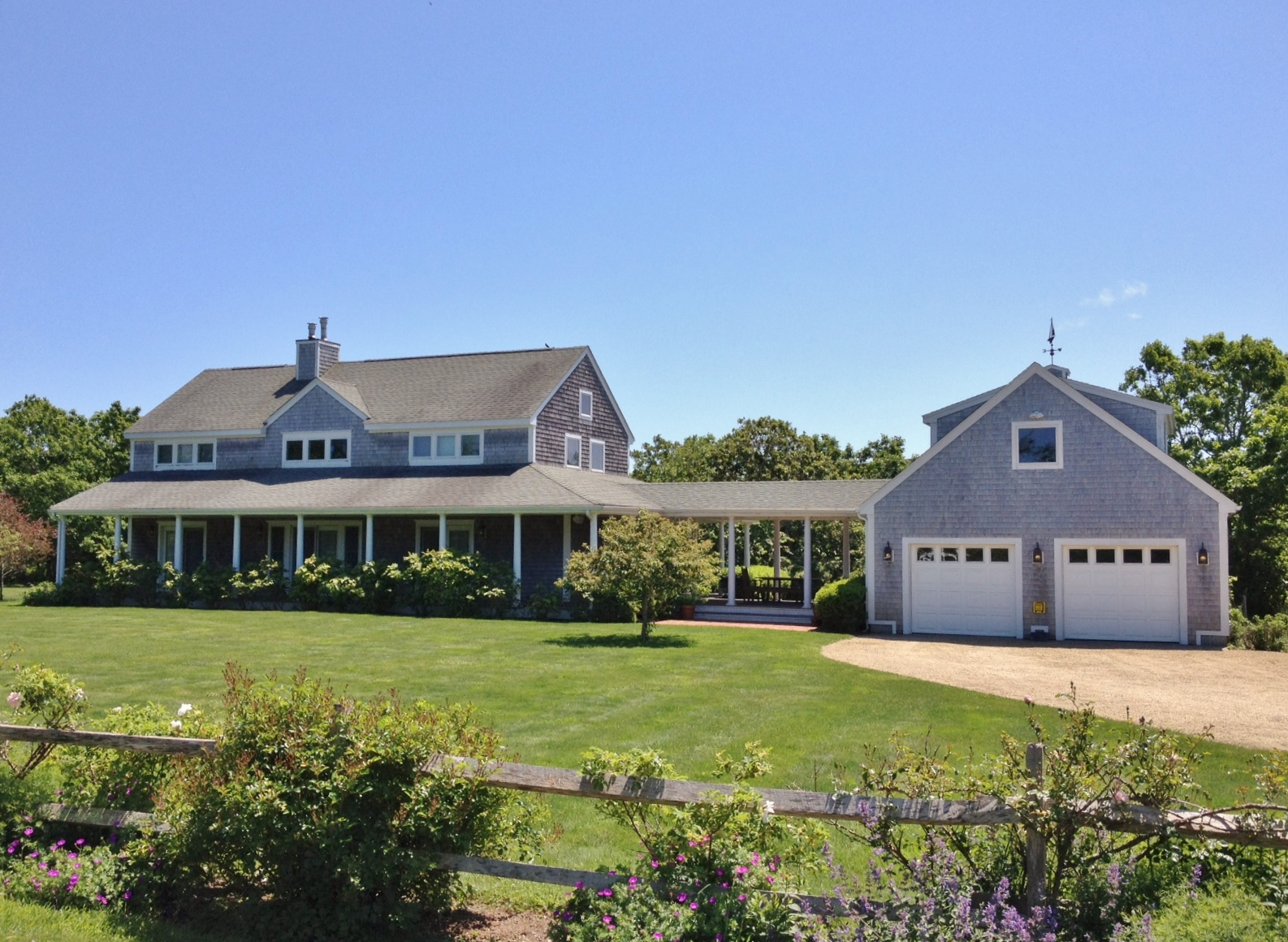 sales property at Beautifully appointed West Tisbury home located near Longpoint Beach