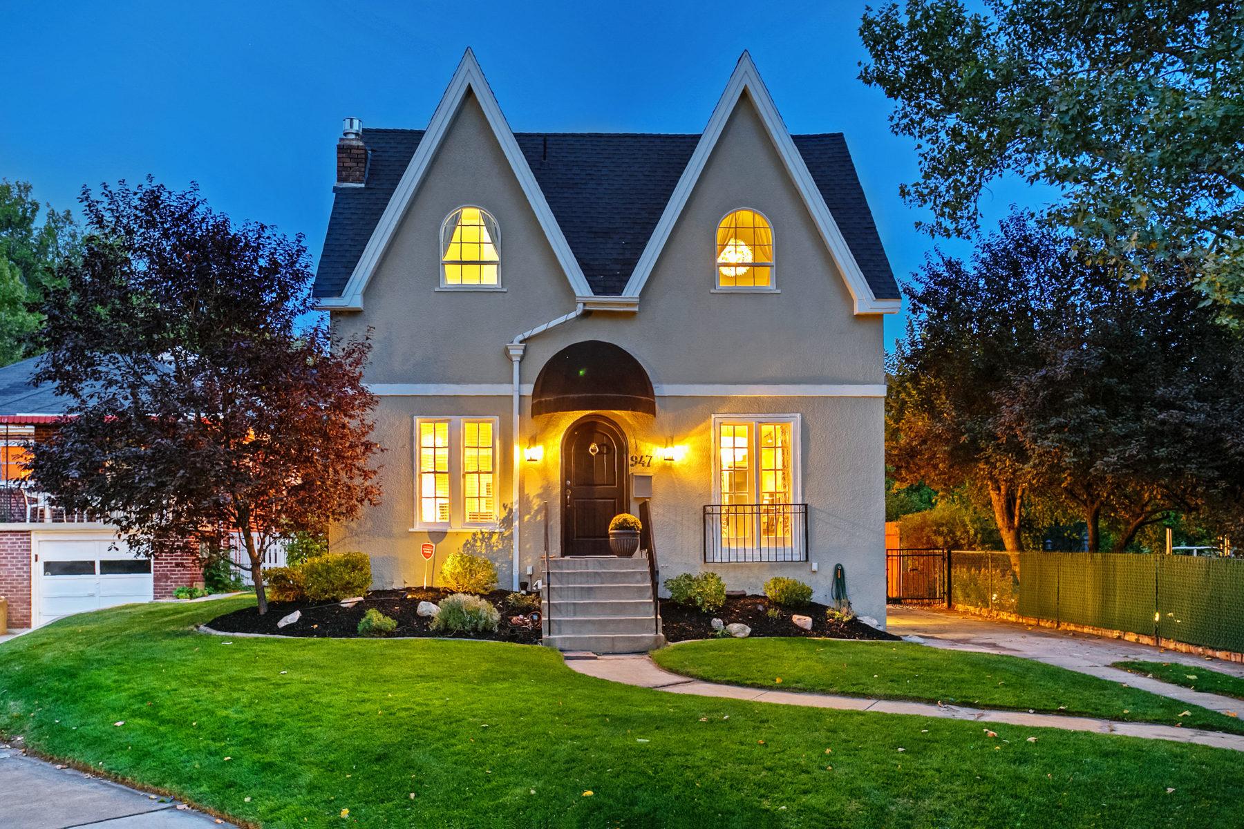 Villa per Vendita alle ore Wonderfully Livable Harvard Yale Residence 947 S Military Dr Salt Lake City, Utah, 84018 Stati Uniti