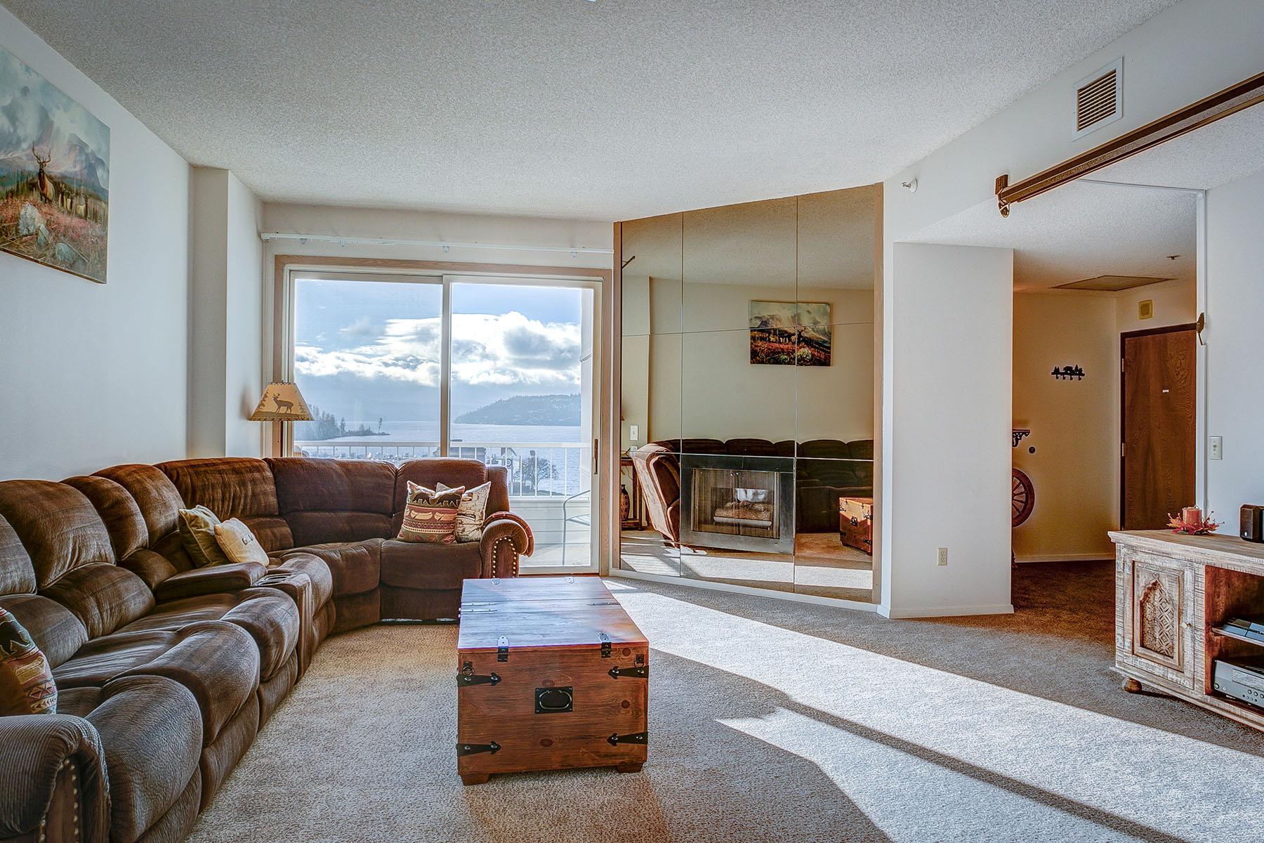 Condominium for Sale at Coeur d'Alene North condos 301 N 1st St #801 Coeur D Alene, Idaho 83814 United States