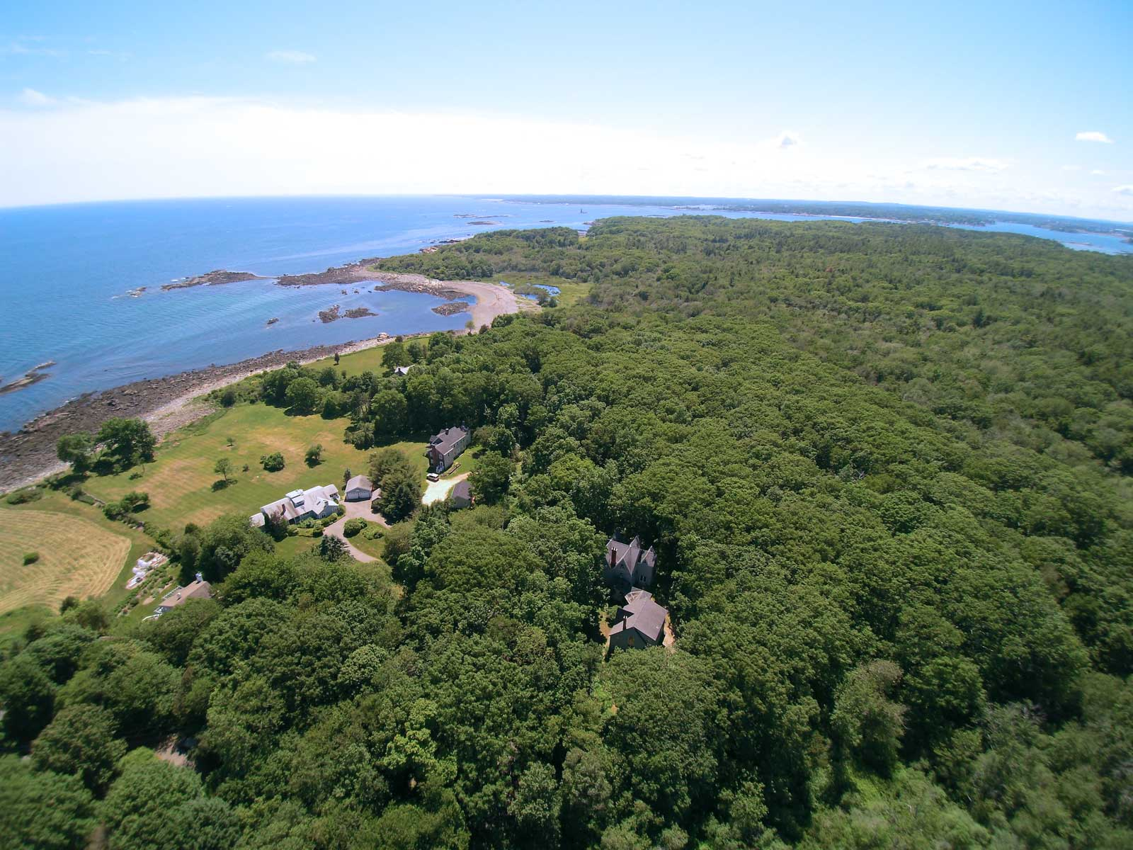 Property For Sale at Greek Revival Home on Gerrish Island