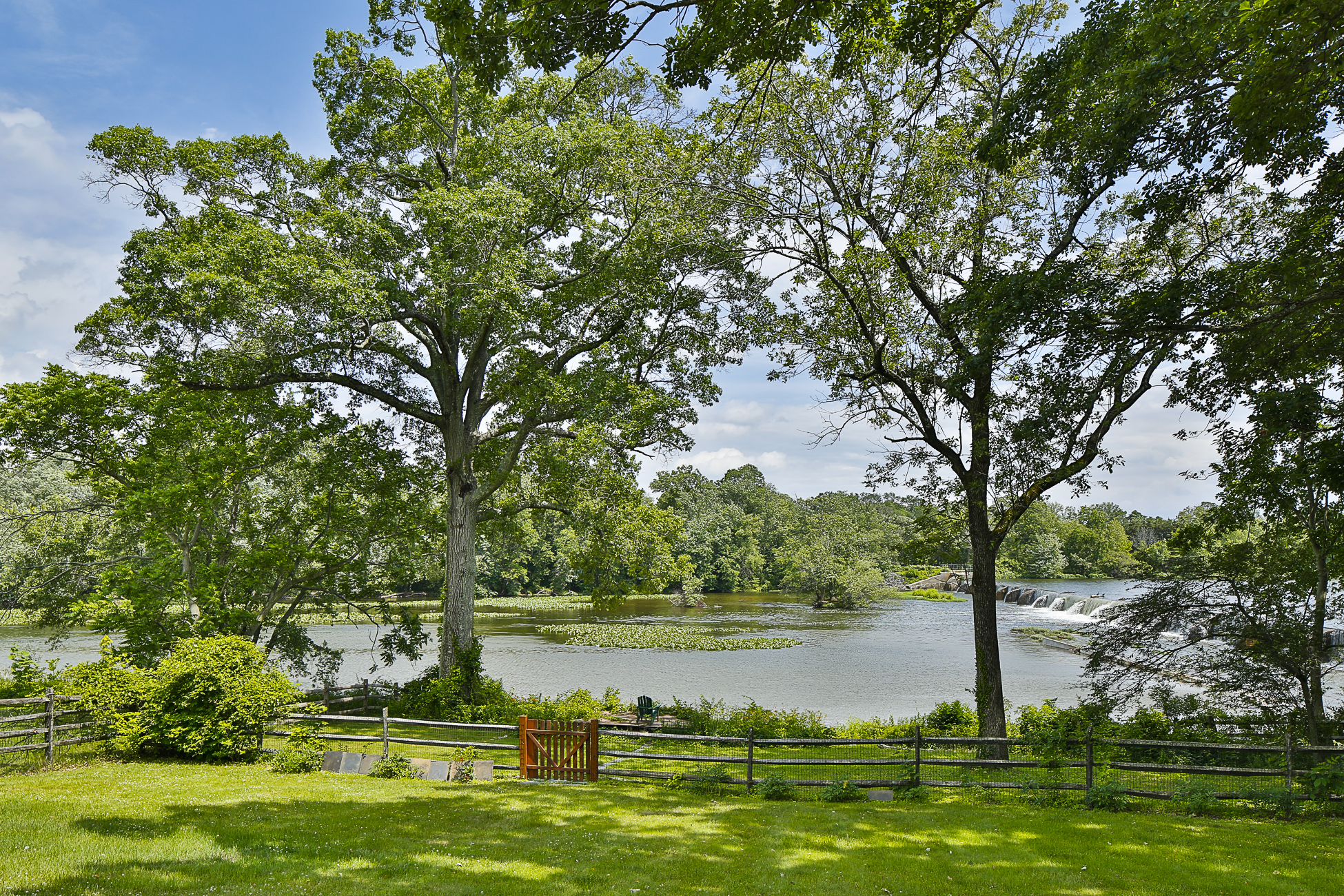 Single Family Home for Sale at Incredible Lake Views Fill Finely-Crafted Spaces 1041 Princeton Kingston Road Princeton, New Jersey, 08540 United States