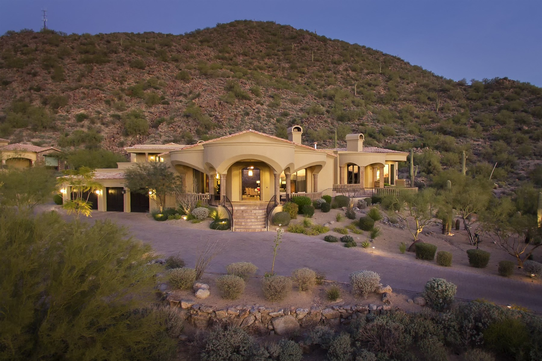 sales property at Spectacular Mountainside Estate with Soft Contemporary Styling