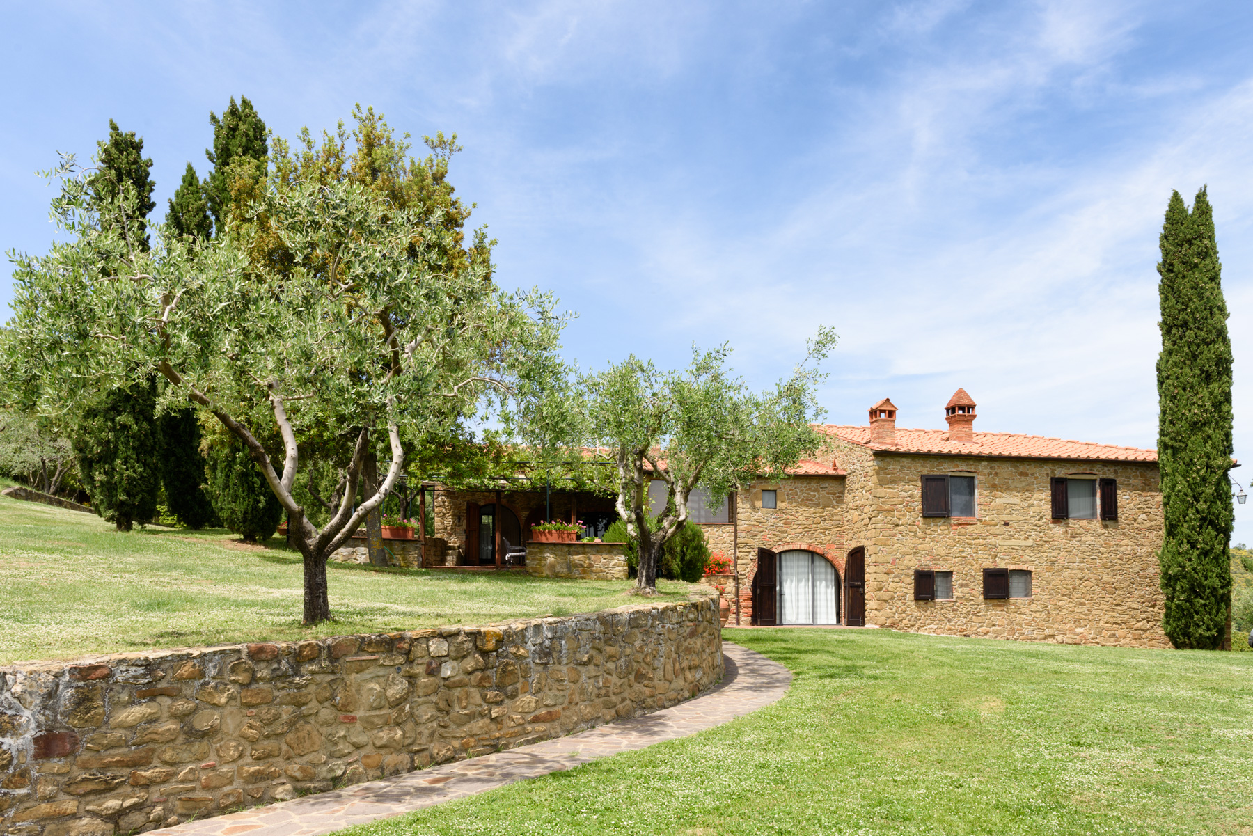 Single Family Home for Sale at Country retreat in Chianti Aretino Pergine Valdarno, Arezzo Italy
