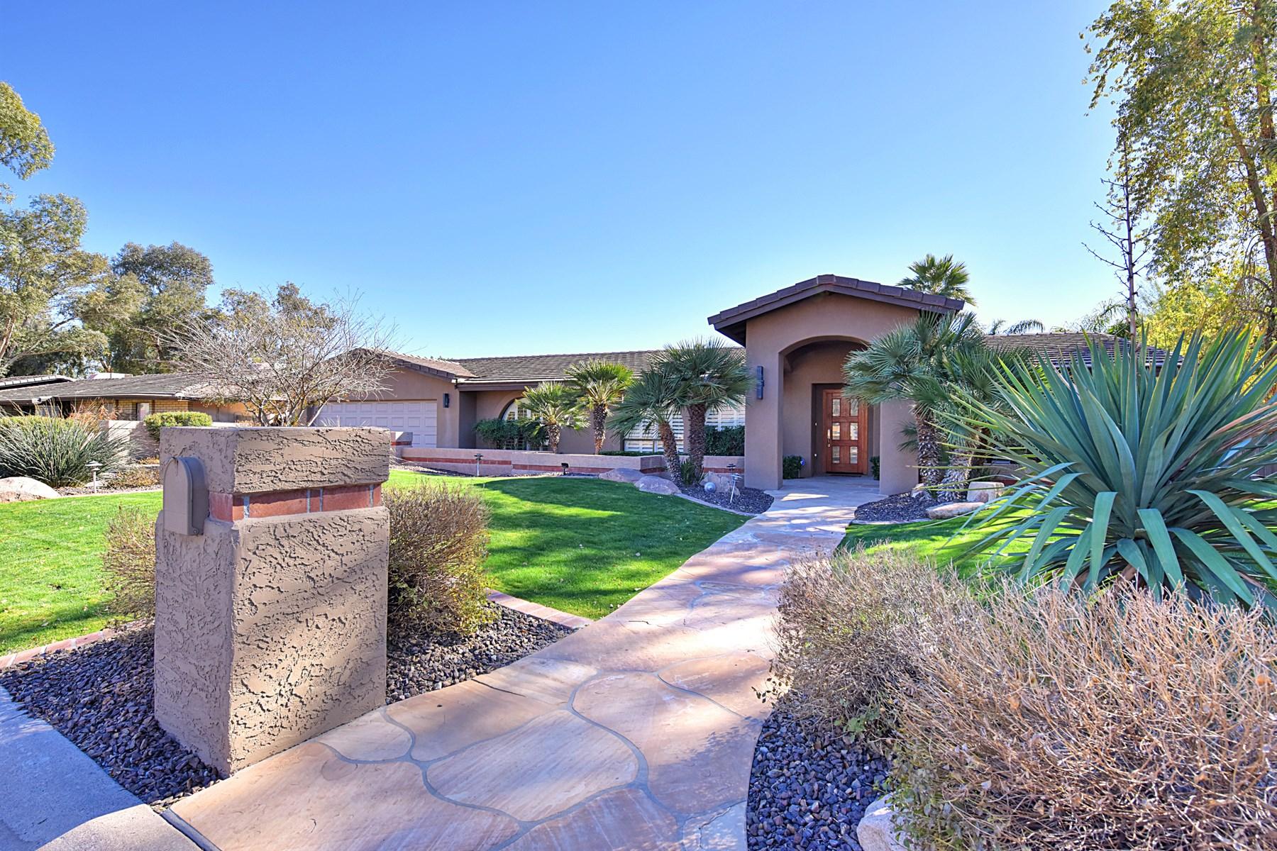 獨棟家庭住宅 為 出售 在 Fabulous six bedroom home 5423 E Crocus Dr Scottsdale, 亞利桑那州, 85254 美國