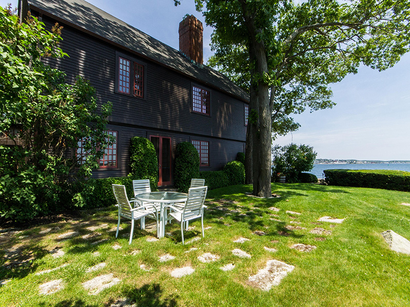 Single Family Home for Sale at Stately Oceanfront Home 65 Dolliver Neck Road Gloucester, Massachusetts 01930 United States