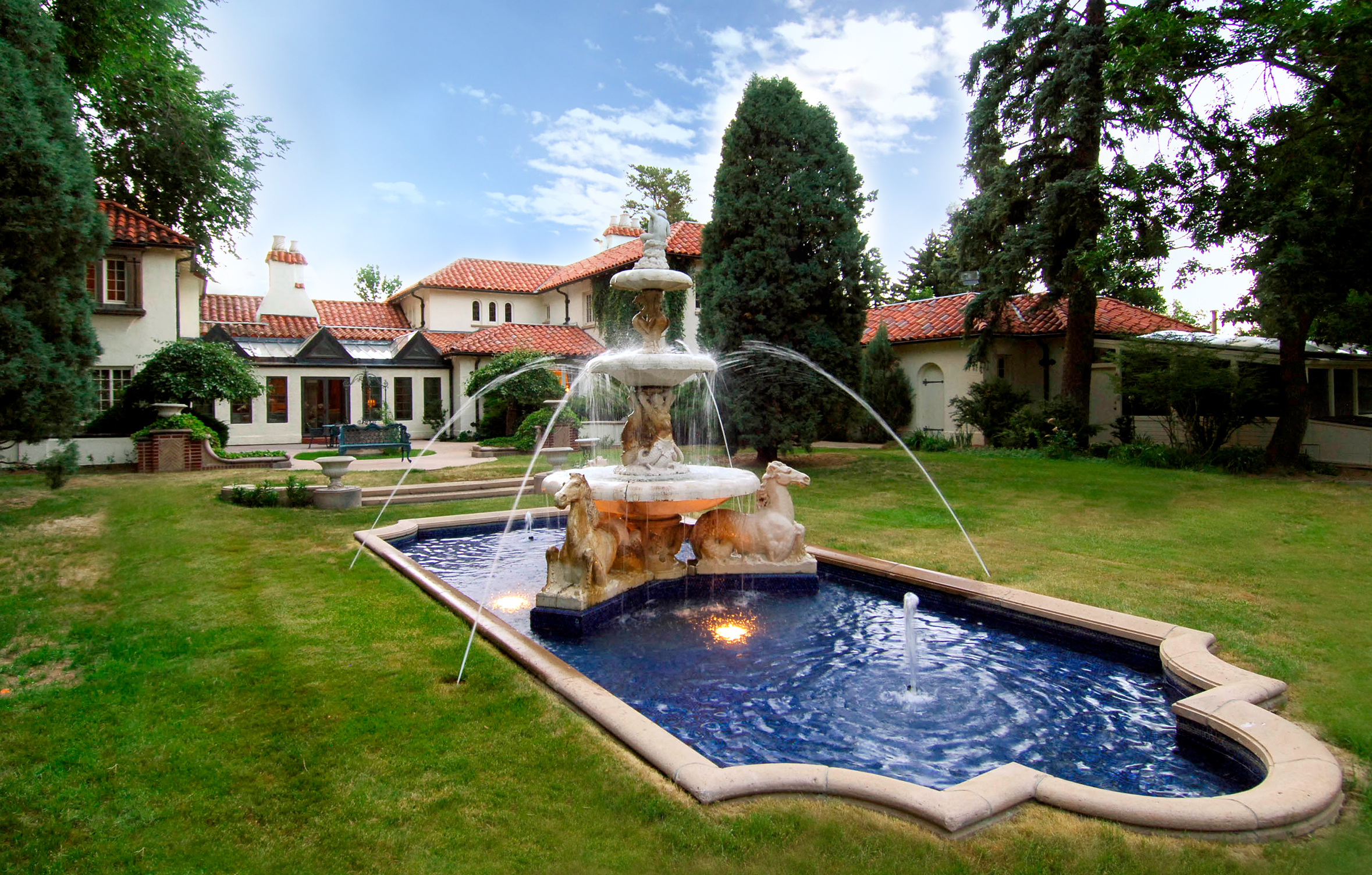 sales property at Italian Renaissance Estate in The Broadmoor Community