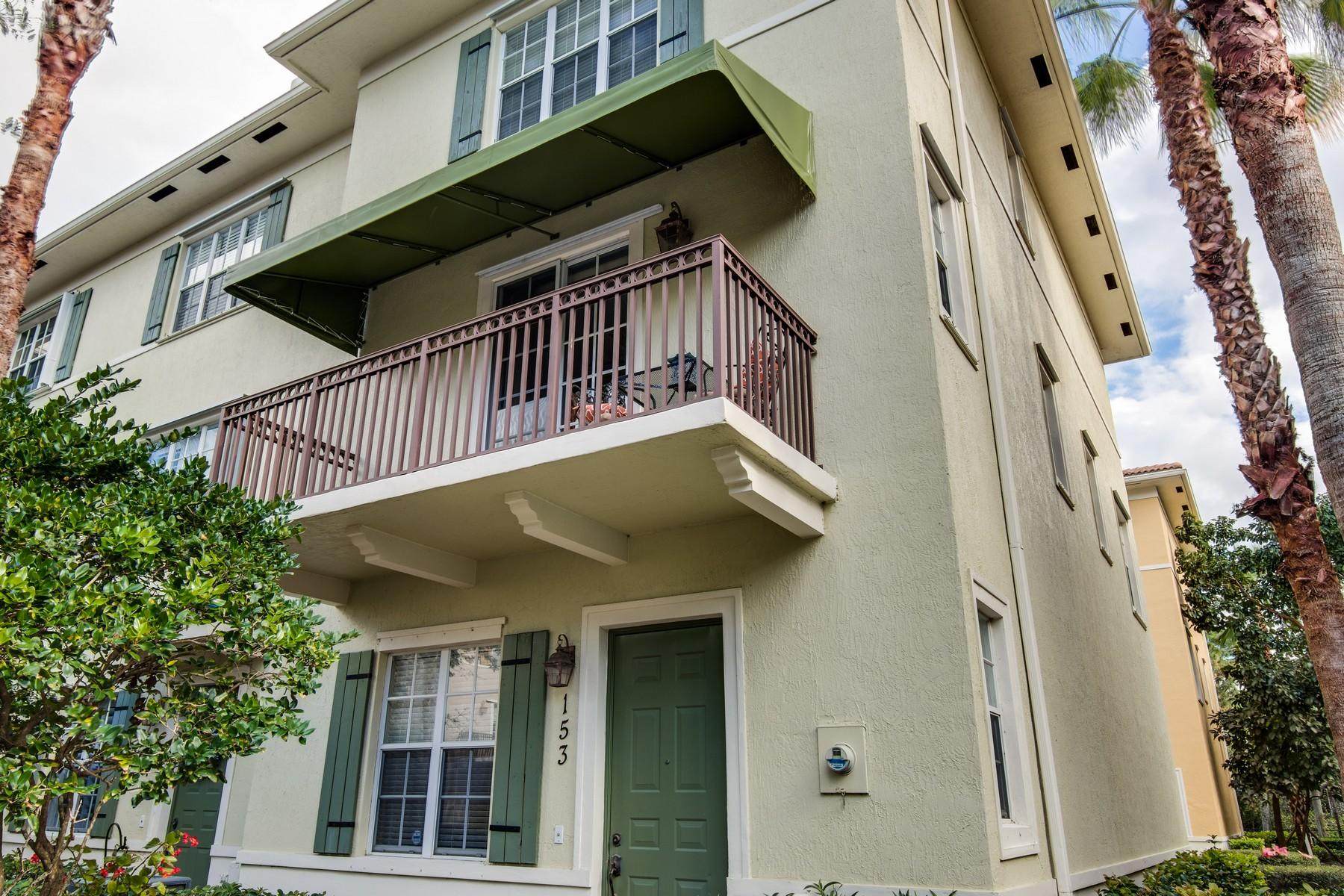 タウンハウス のために 売買 アット 153 Apalachee Lane Jupiter, フロリダ, 33458 アメリカ合衆国