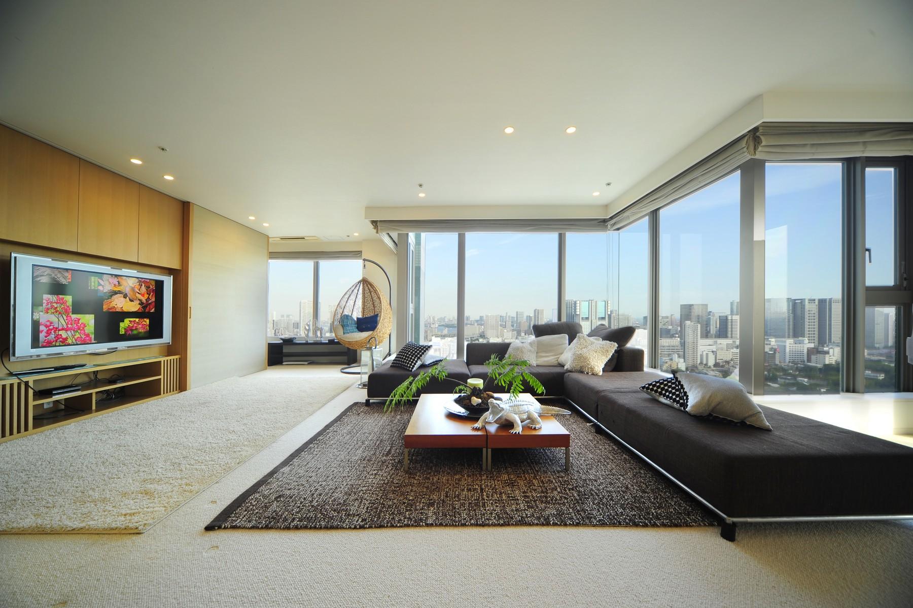 Appartement pour l Vente à City Tower Takanawa Takanawa, Minato-Ku, Tokyo Japon
