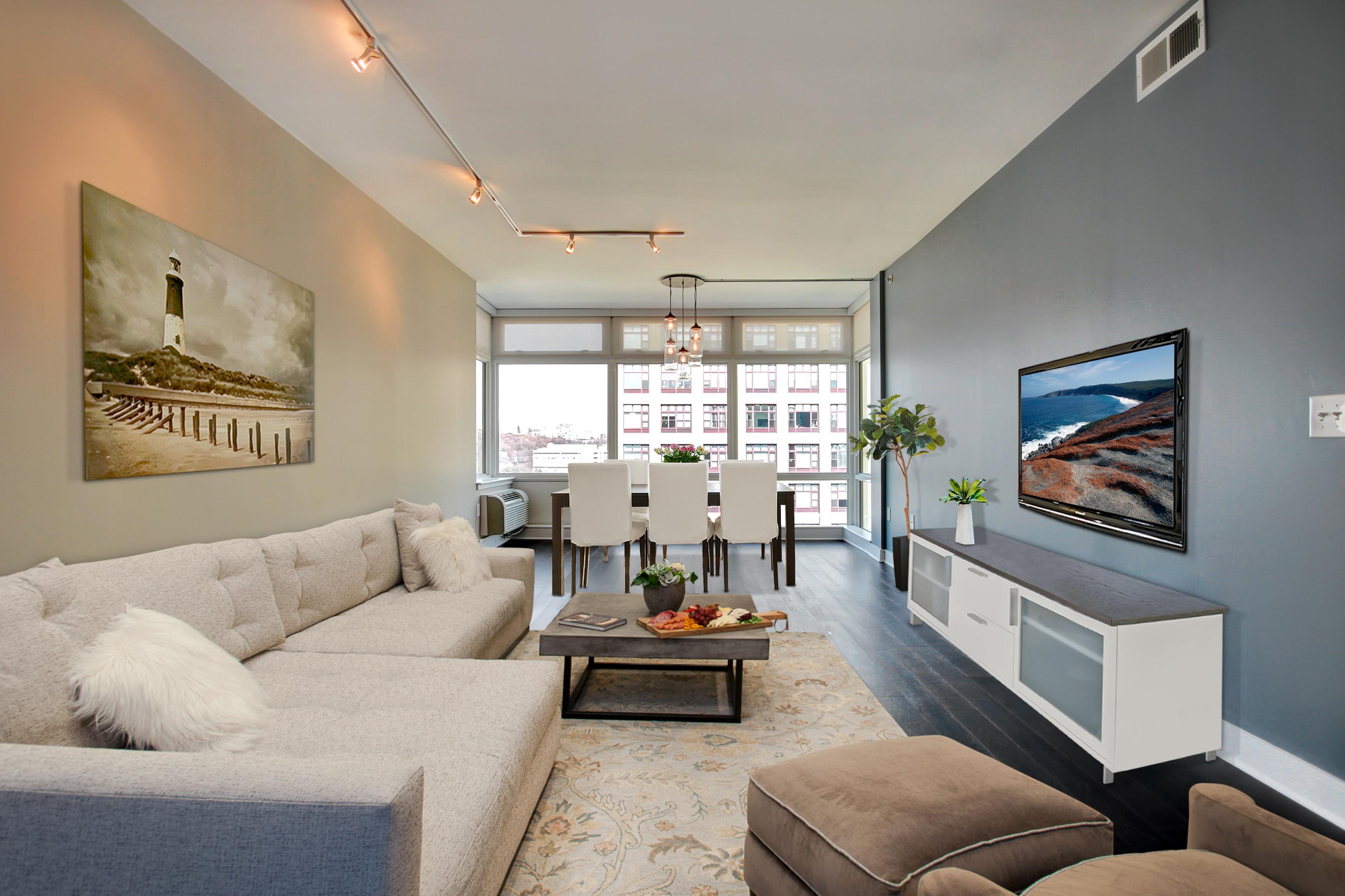 Condominio per Vendita alle ore Waterfront Living 1450 Washington Street #1005 Hoboken, New Jersey, 07030 Stati Uniti