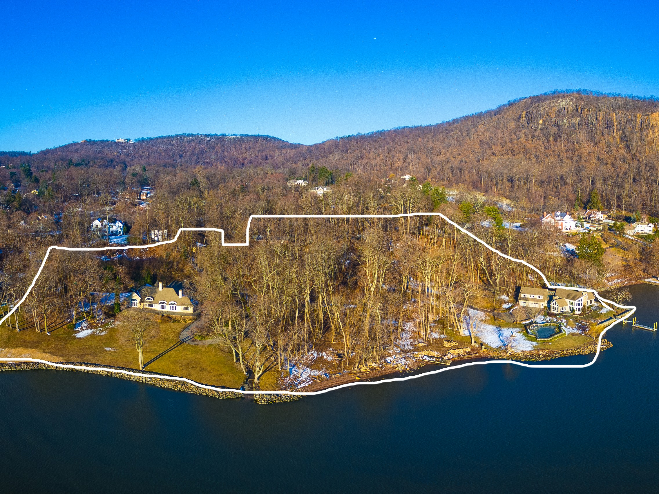 sales property at 9.5 Acres on Hudson River