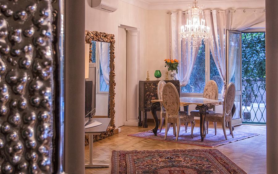 Apartment for Sale at Prestigious ground floor in Monti Parioli Via Ettore Ximenes Rome, Rome 00197 Italy