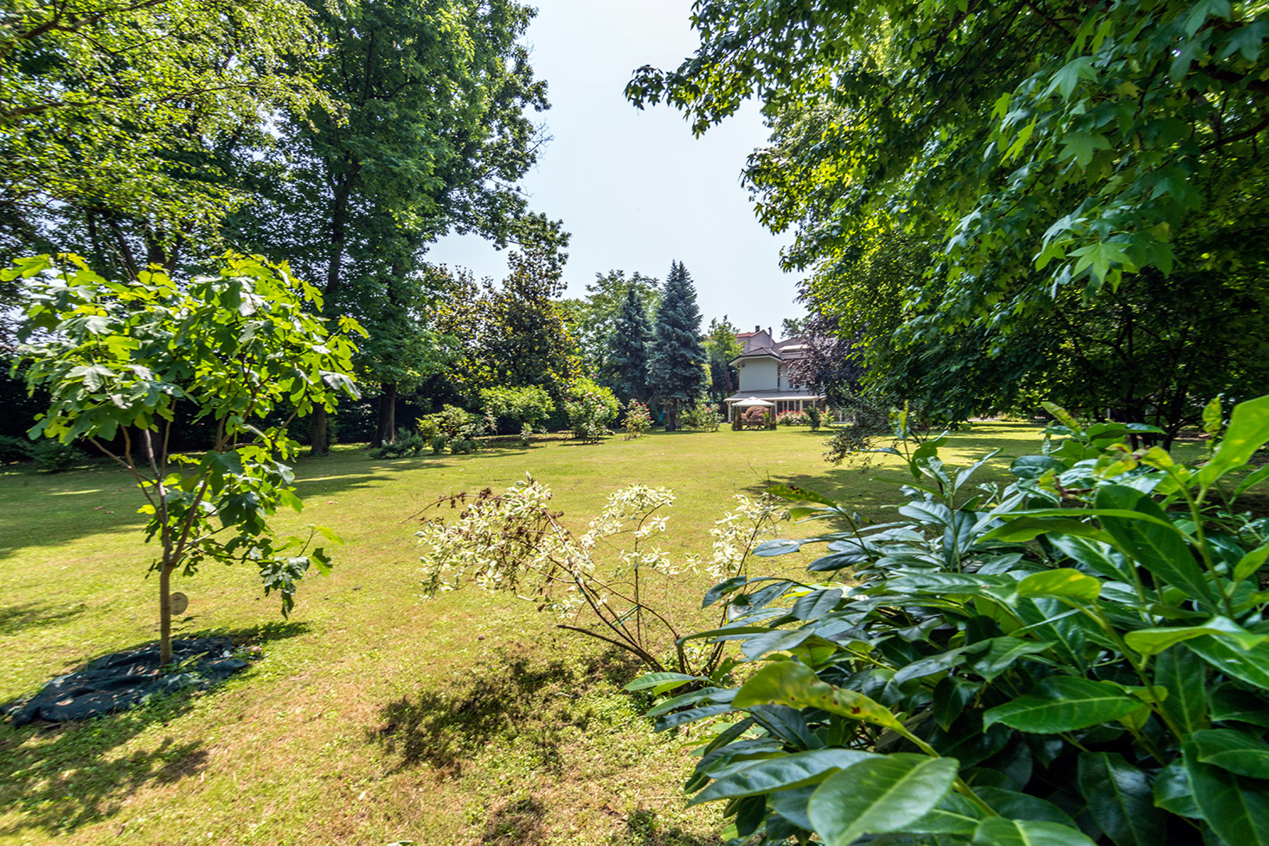 Additional photo for property listing at Exclusive restored villa in a secular park via Benedetto Diotti Milano, Milan 20153 Italien