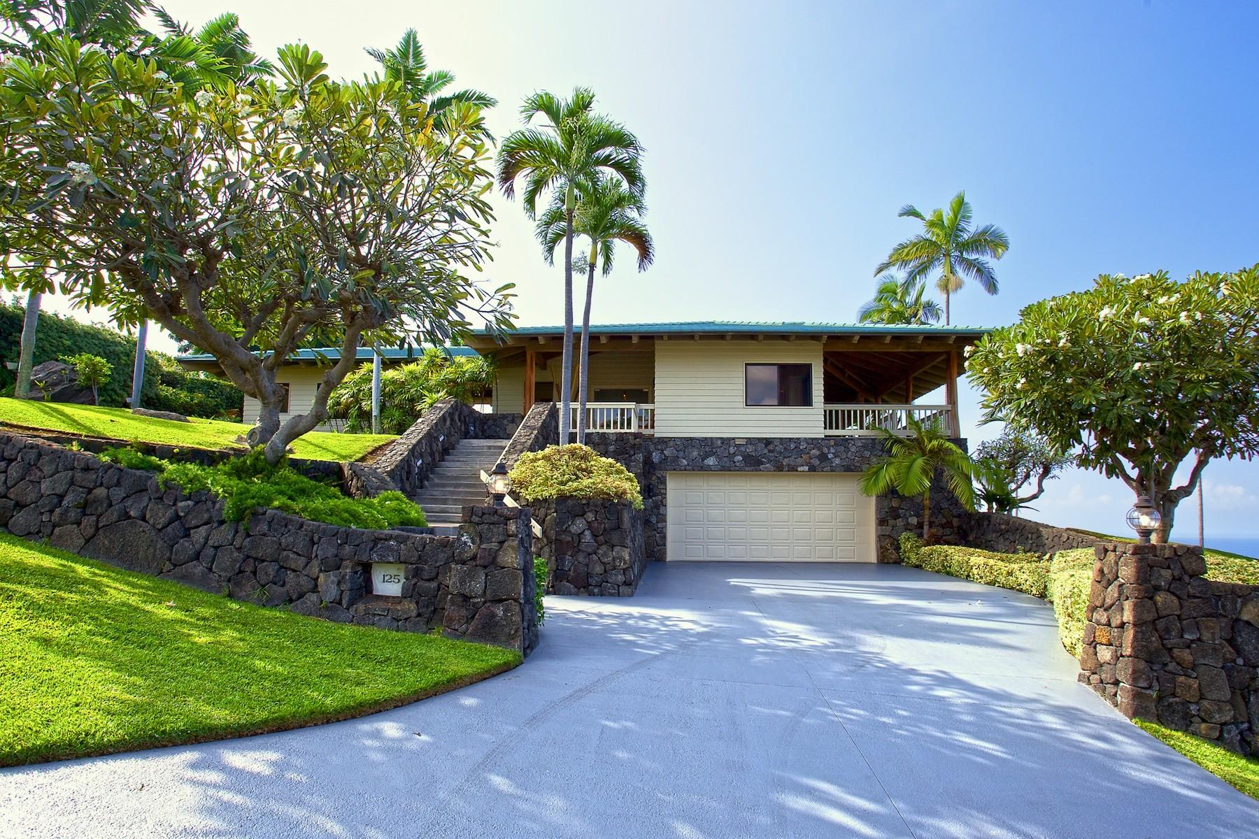 Casa Unifamiliar por un Venta en Keauhou Estates 78-6807 Kuhinanui Way Kailua-Kona, Hawaii, 96740 Estados Unidos