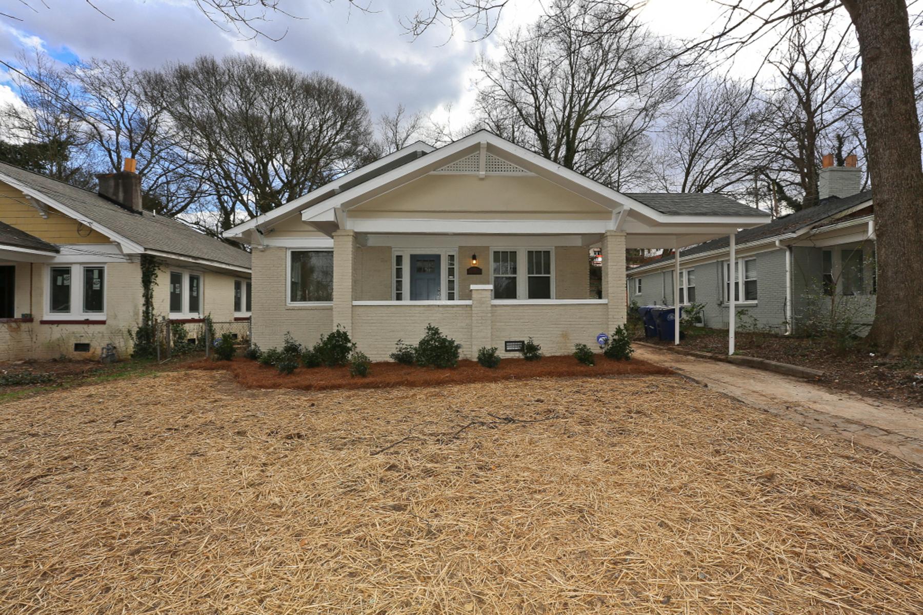 一戸建て のために 売買 アット Classic Grant Park Bungalow 153 Atlanta Avenue Grant Park, Atlanta, ジョージア 30315 アメリカ合衆国