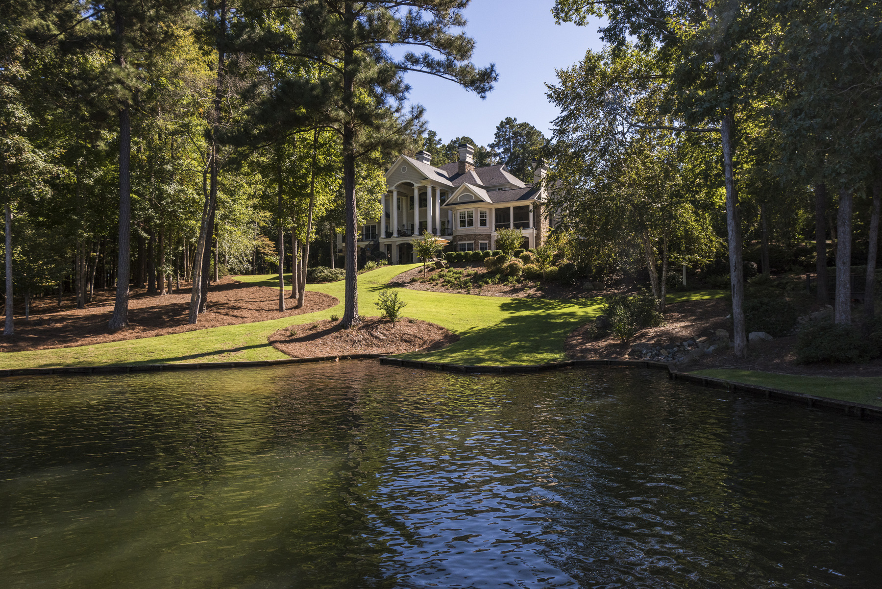 Property For Sale at Private Lakefront Retreat in Reynolds Plantation