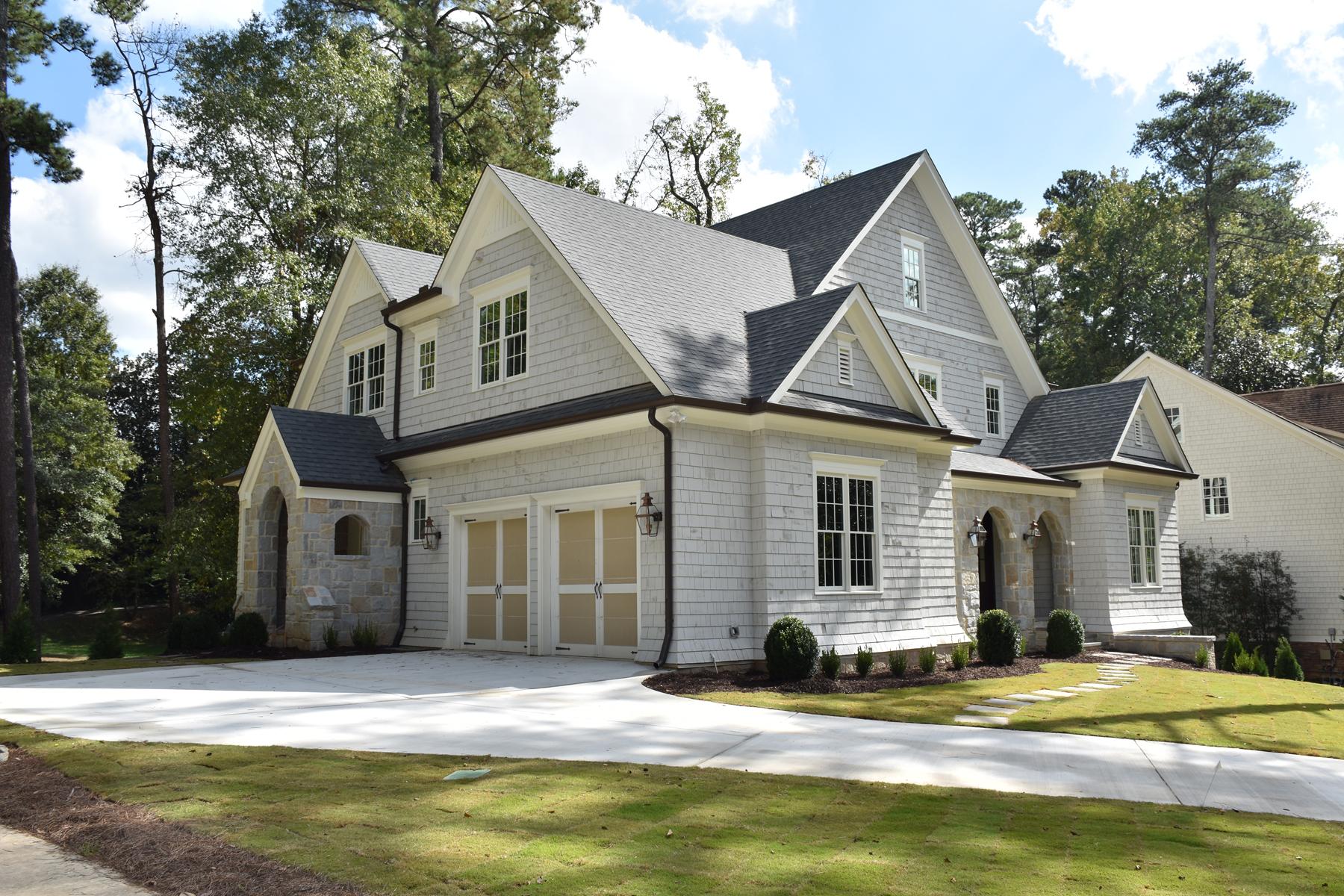 Maison unifamiliale pour l Vente à New Classic On Peachtree Battle 650 Peachtree Battle Avenue Buckhead, Atlanta, Georgia, 30327 États-Unis