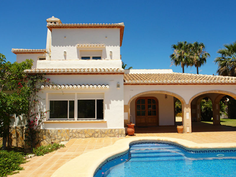 Single Family Home for Sale at Villa en Tesoro Park dominando el campo de Golf, Javea Javea, Alicante Costa Blanca 03730 Spain