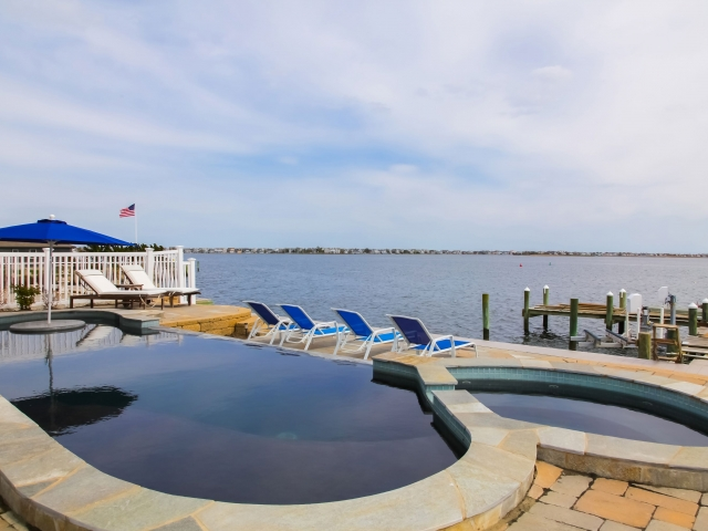 Single Family Home for Sale at Extraordinary Bayfront Home 1860 Boat Point Drive Point Pleasant, New Jersey 08742 United States